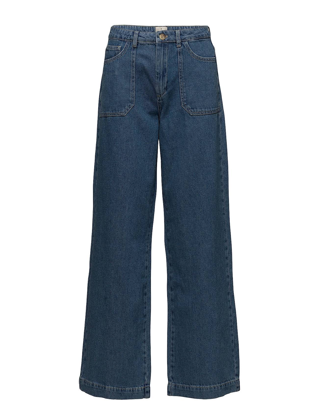 French Connection Shelby Denim Wide Leg Jeans