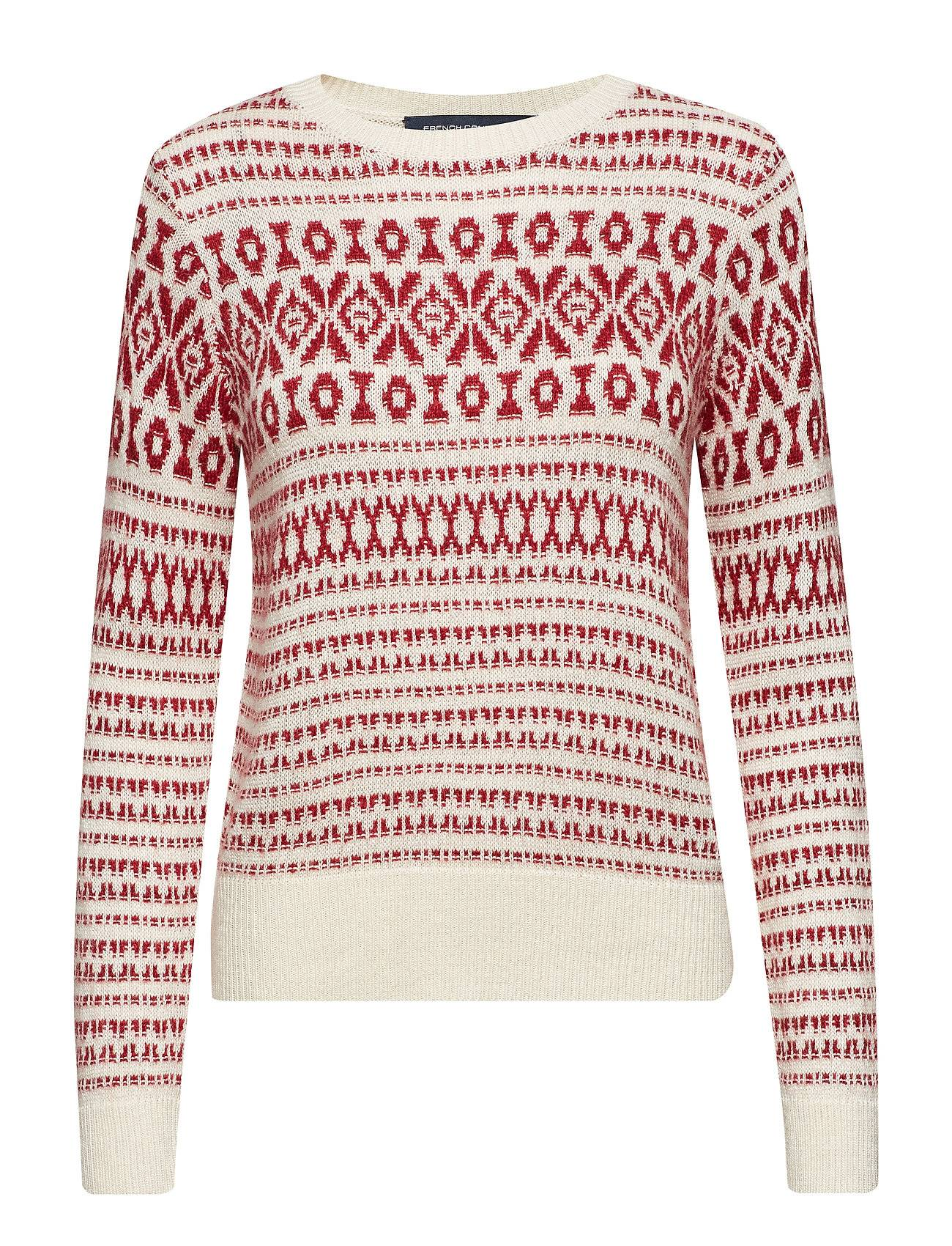 French Connection Esme Fair Isle Ls Jumper