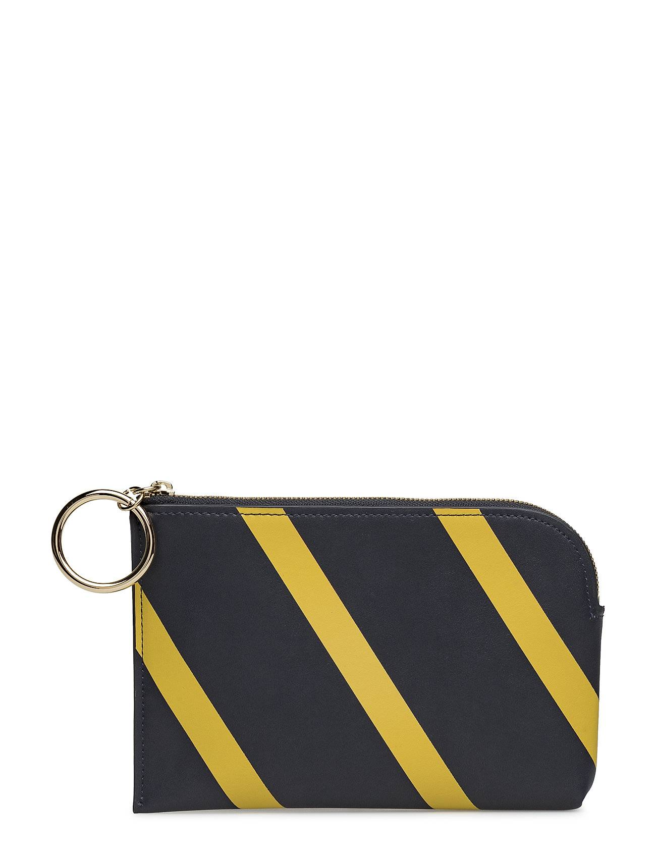 French Connection Oakley Striped Blocked Wallet