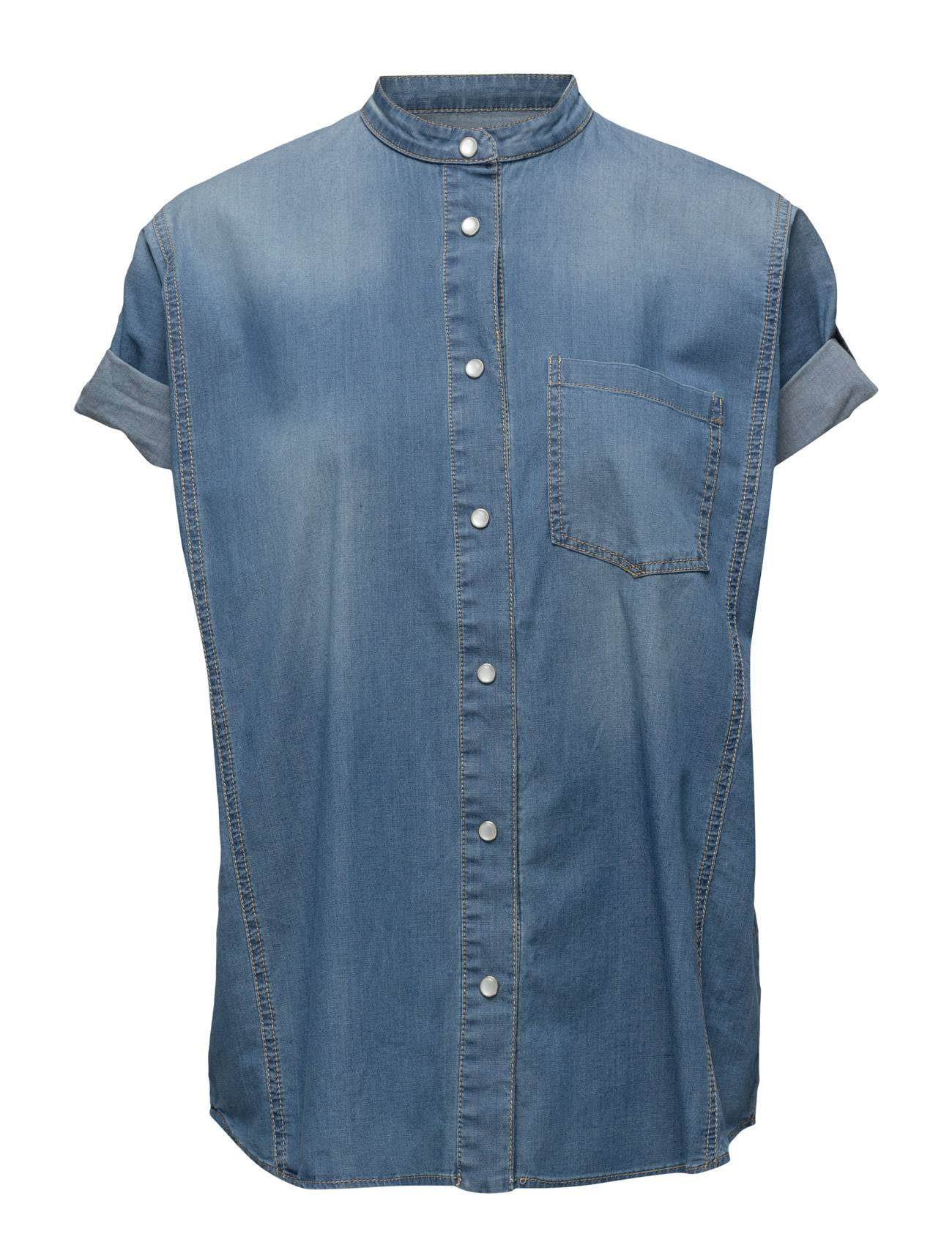 Hunkydory Waving Denim Shirt