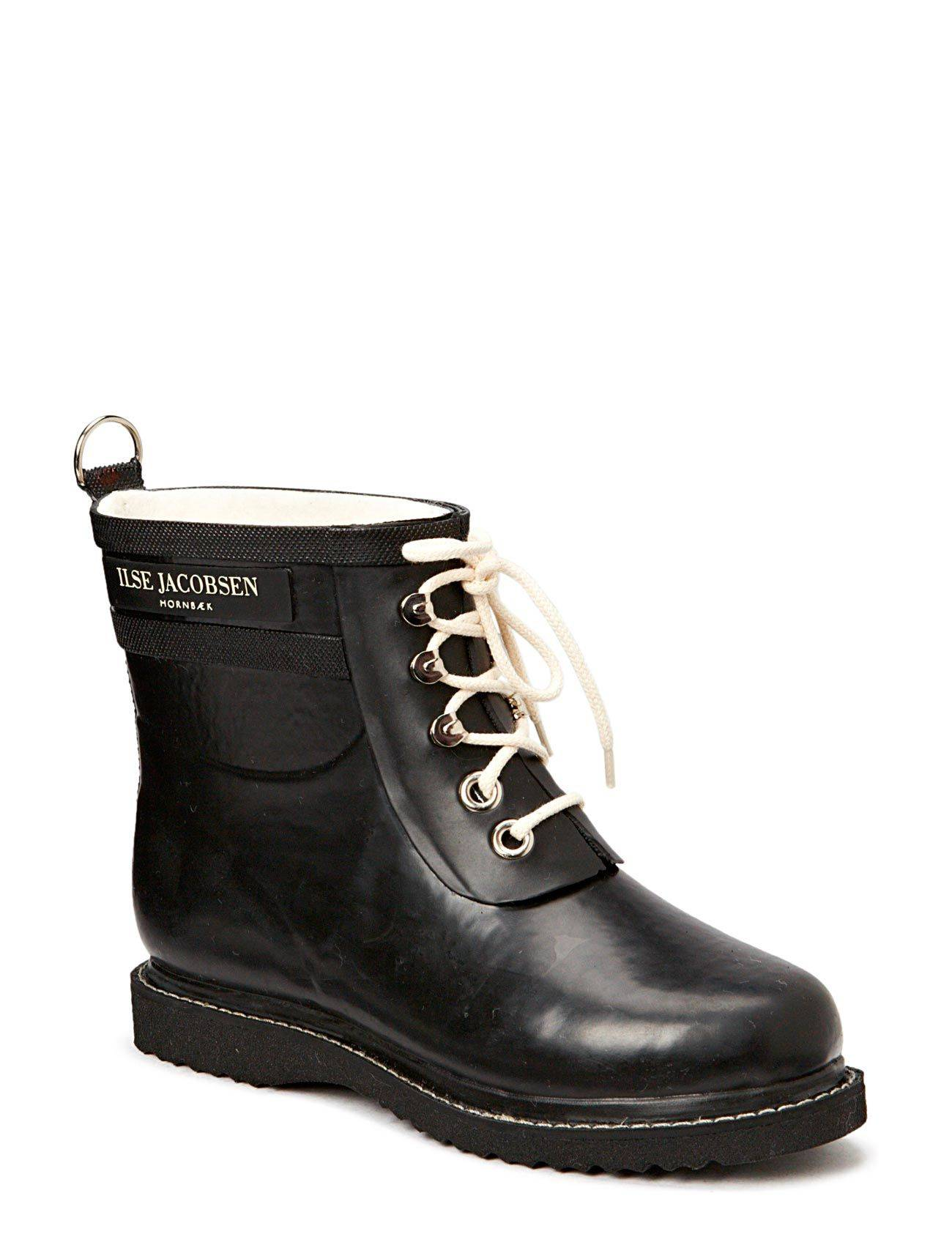 Ilse Jacobsen Rain Boot - Ankle, Classic With Laces
