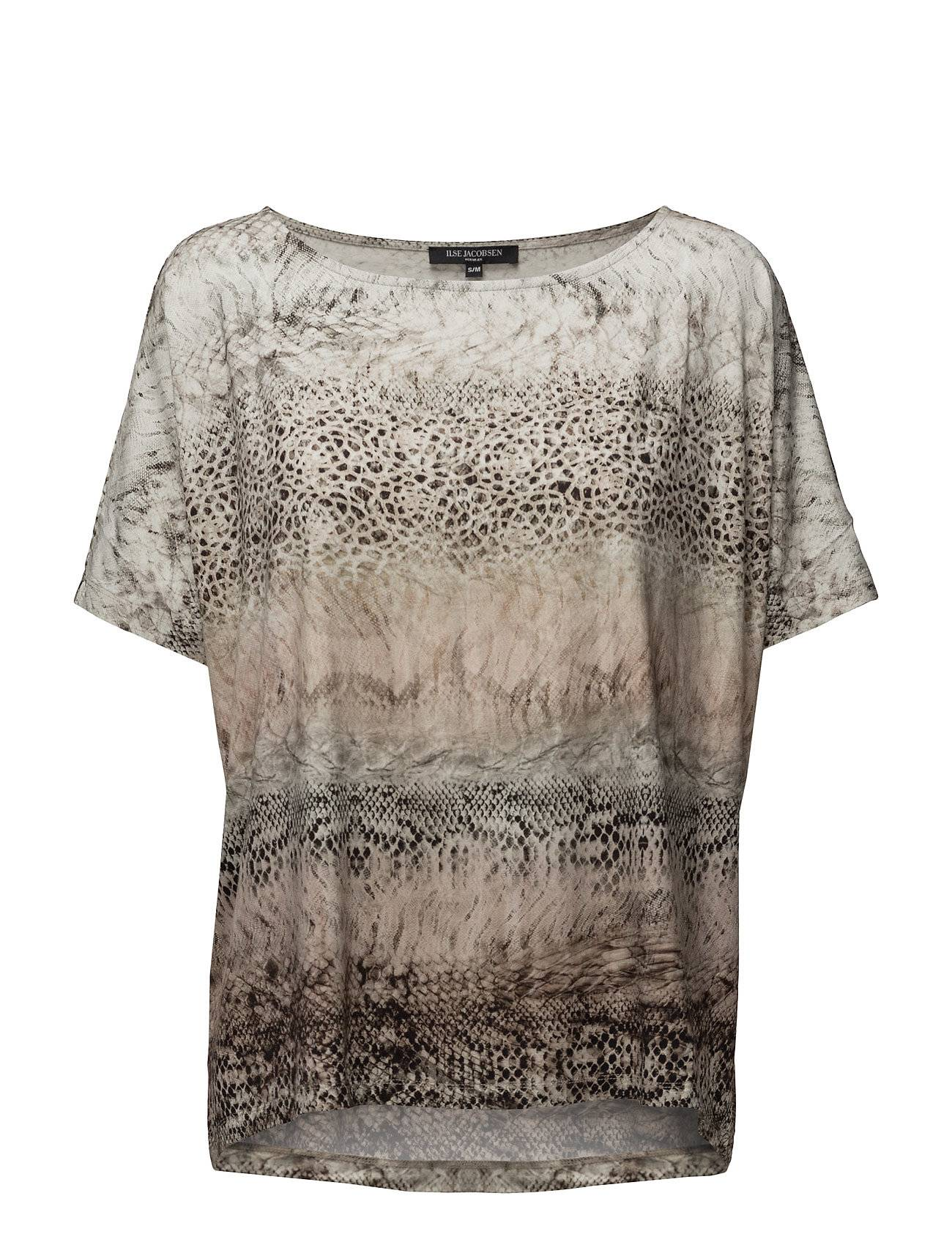 Ilse Jacobsen Womens Oversize Animal Blouse