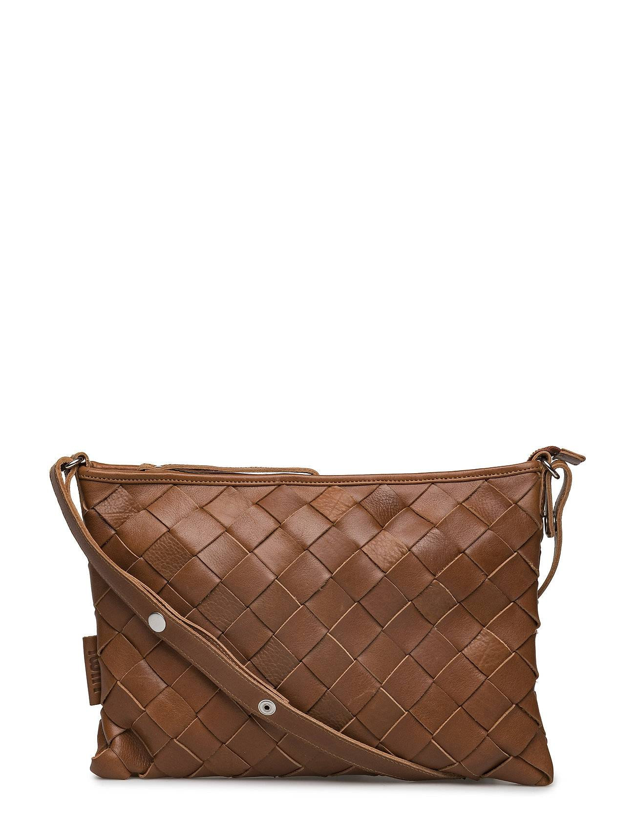 LUMI Trine Large Woven Clutch