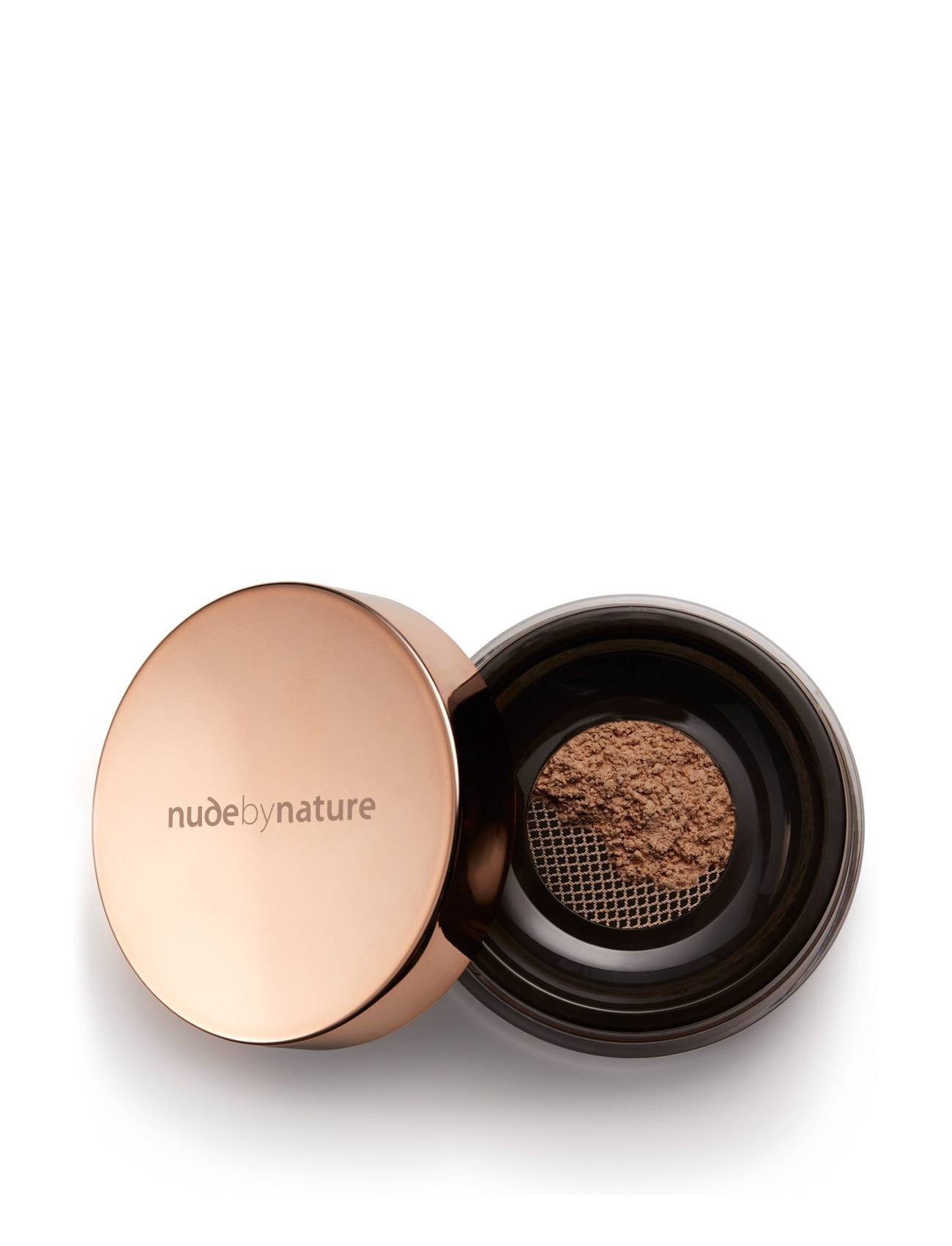 Nude by Nature Radiant Loose Powderfoundation N9 Sandy Brown