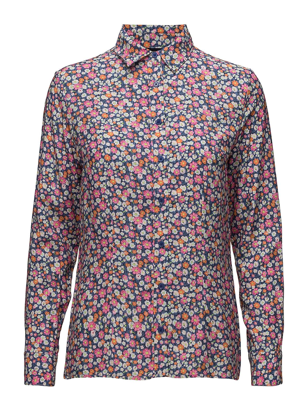 Park Lane Flower Print Blouse