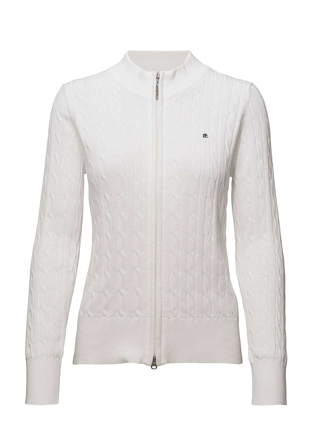 Park Lane Cable Zip Cardigan