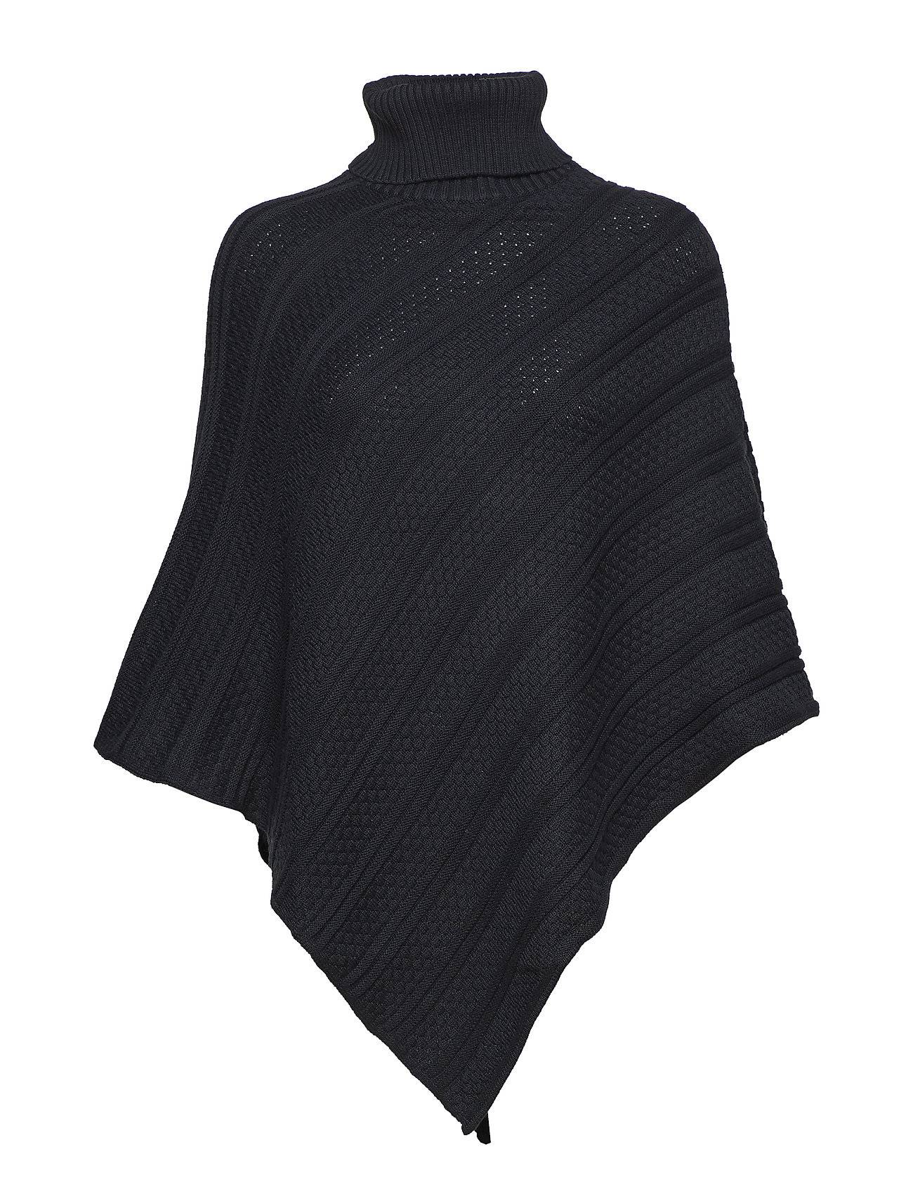 Park Lane Poncho With Collar
