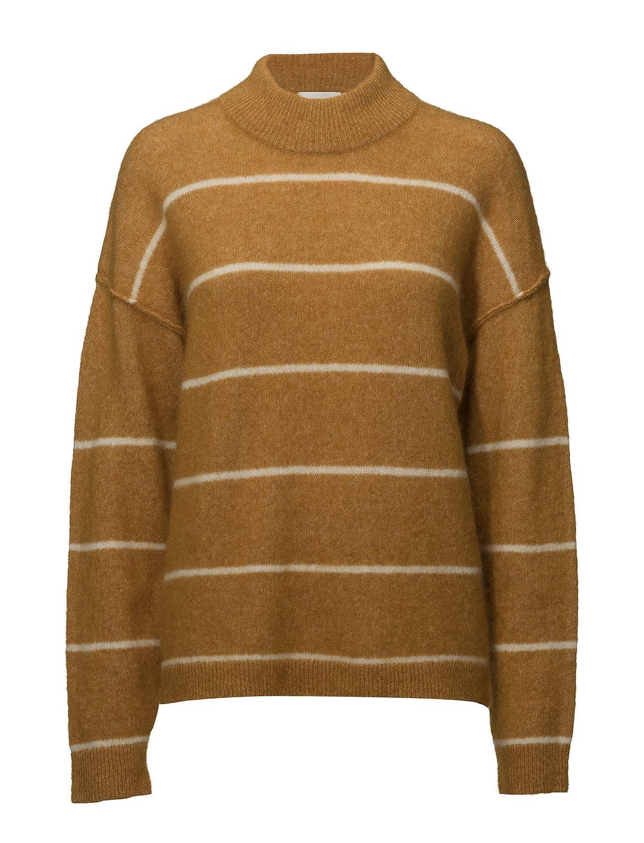 Second Female Brook Knit Loose Striped O-Neck