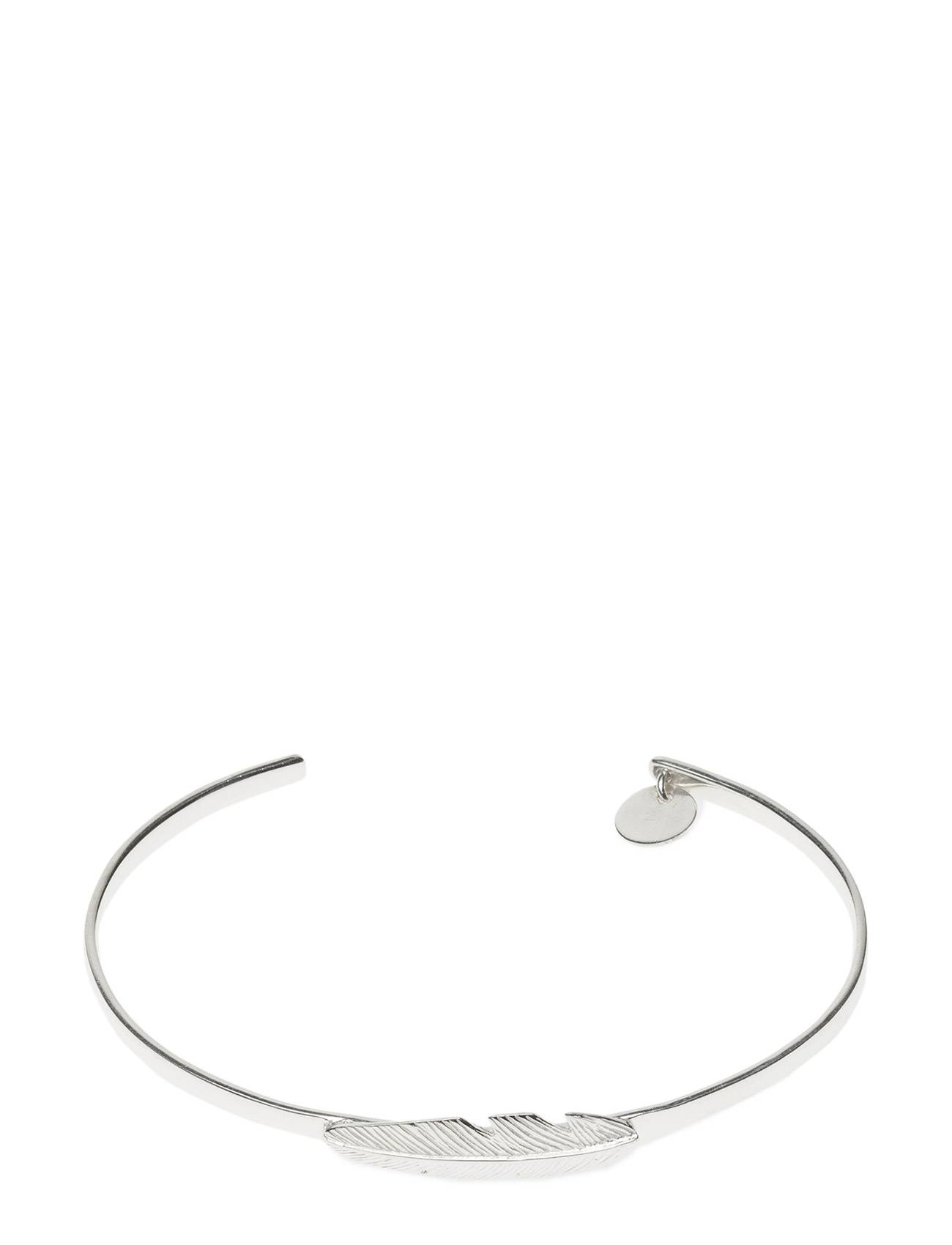 Syster P Feather Bangle Silver