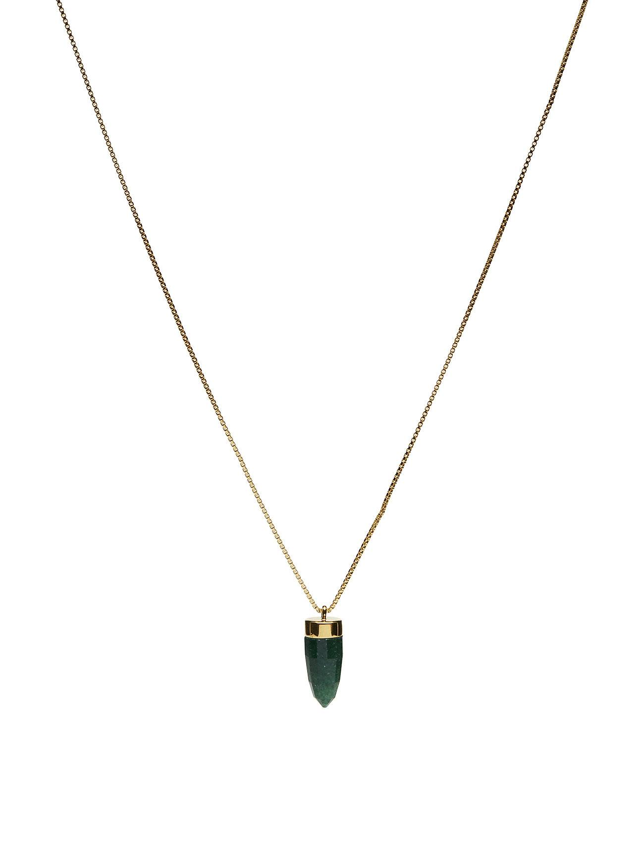 Syster P Panthera Stone Necklace Green Aventurine