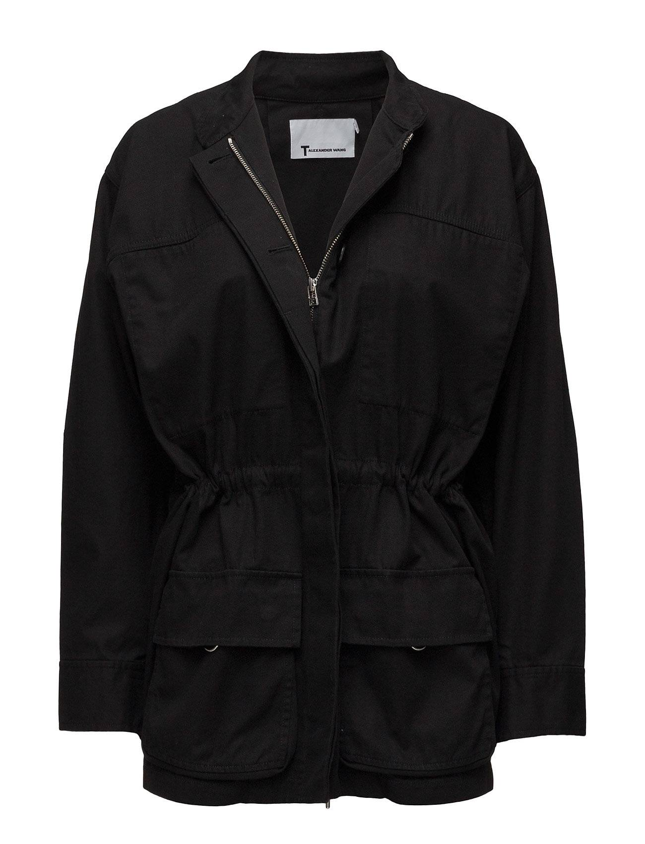 T by Alexander Wang L/S Coat W/ Drawcord