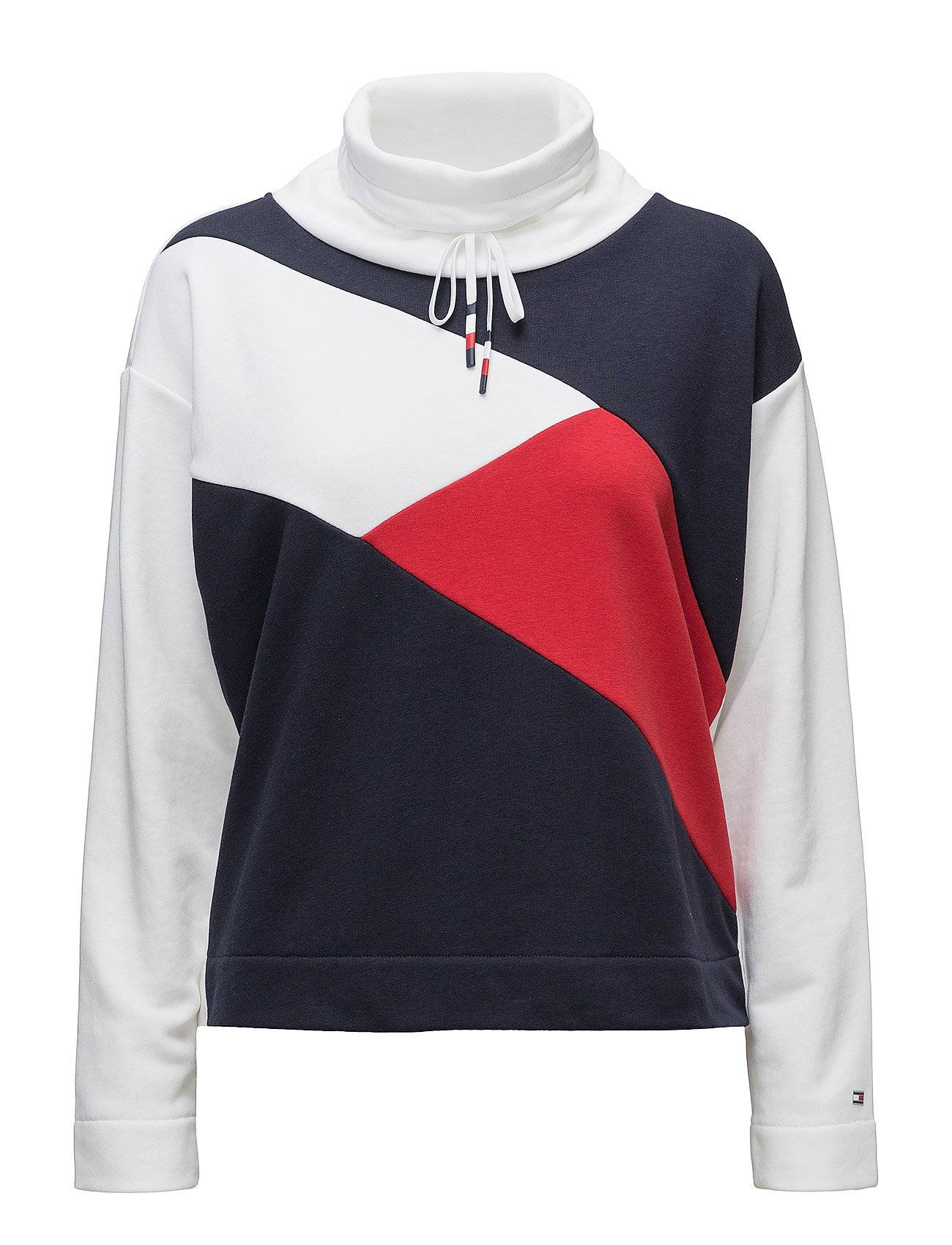 Tommy Hilfiger Th Ath Elba Colour Block Sweatshirt Ls