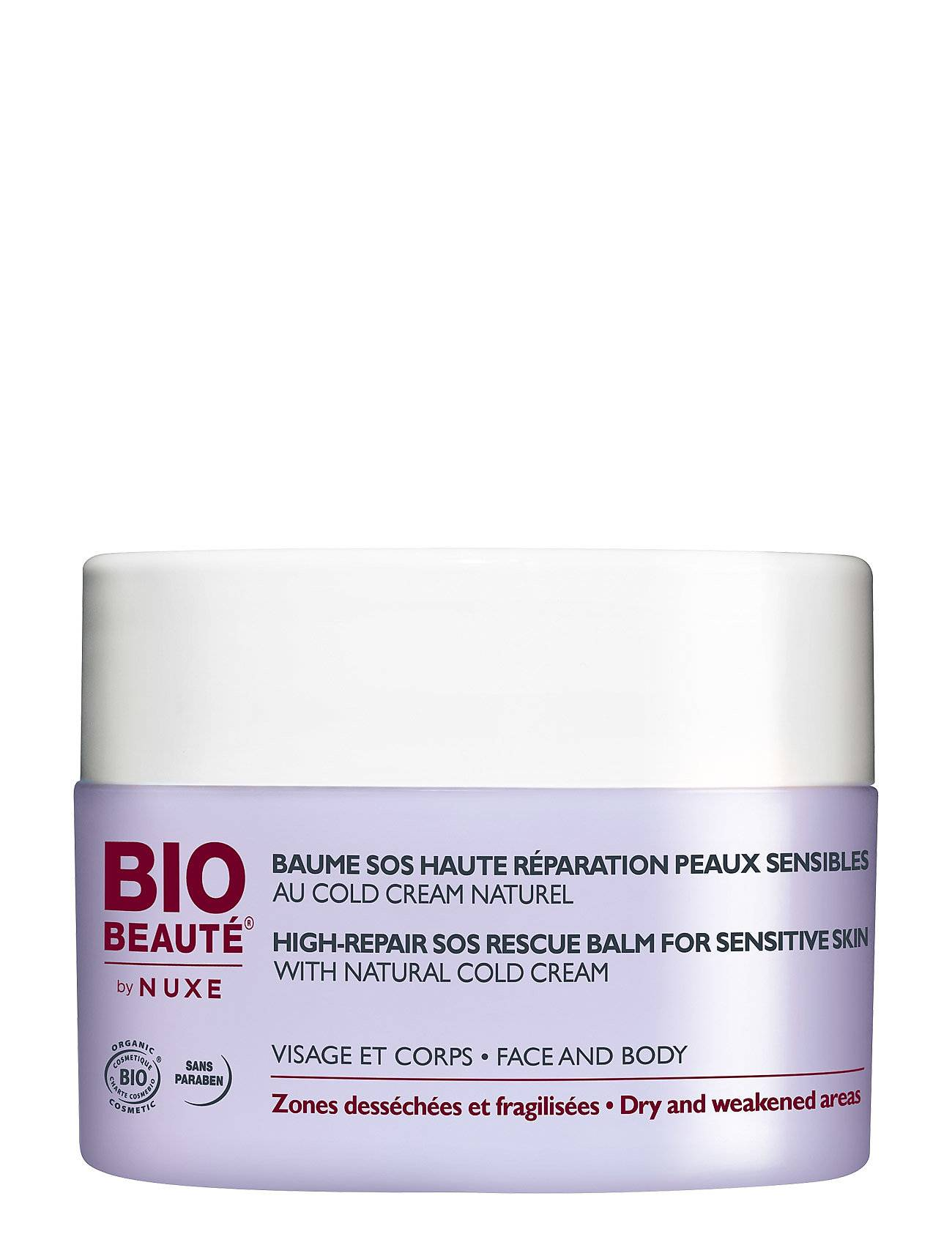 Bio-Beauté by NUXE High Repair Sos Balm Sensitive 50 Ml