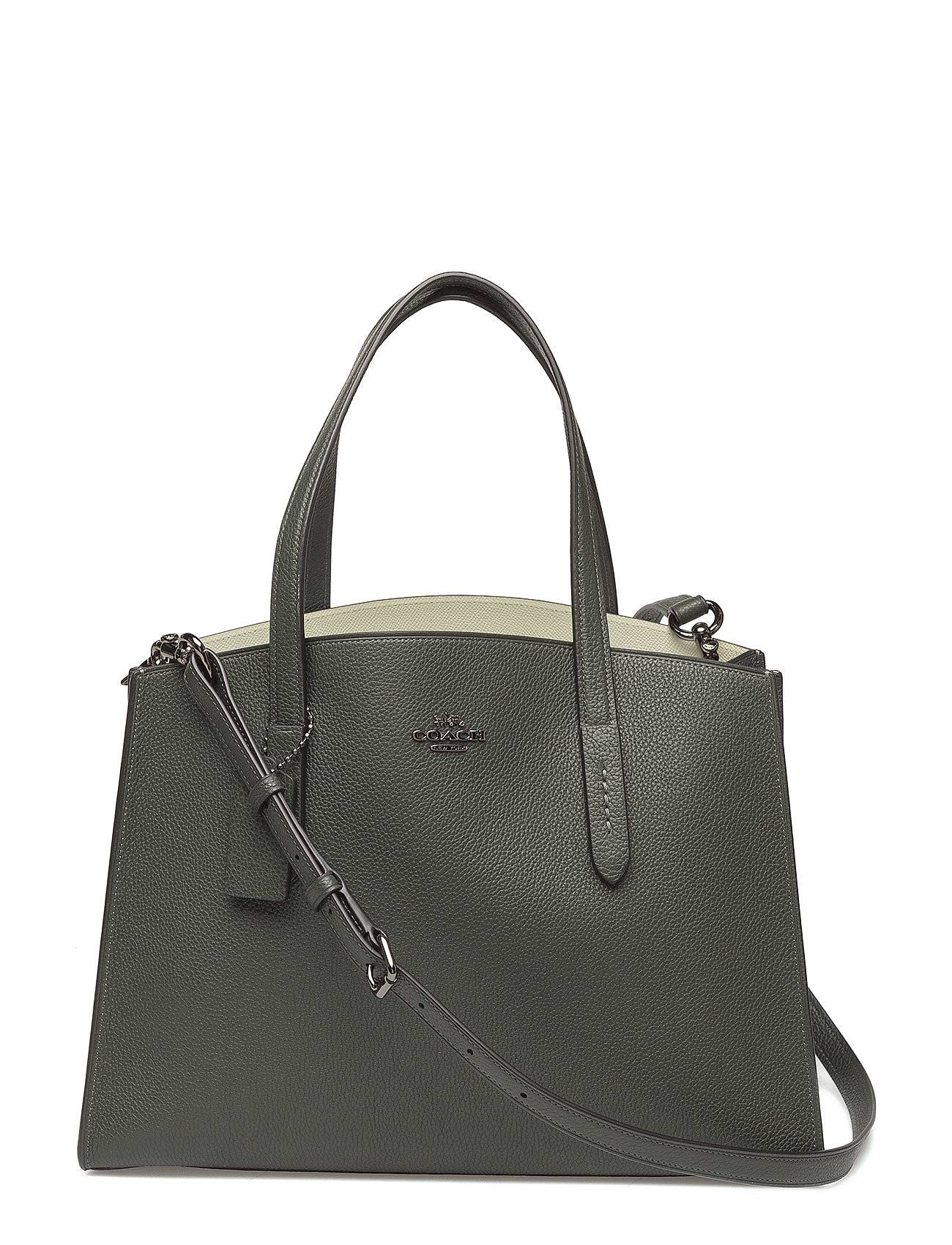 Coach Polished Pebble Leather Charlie Carryall