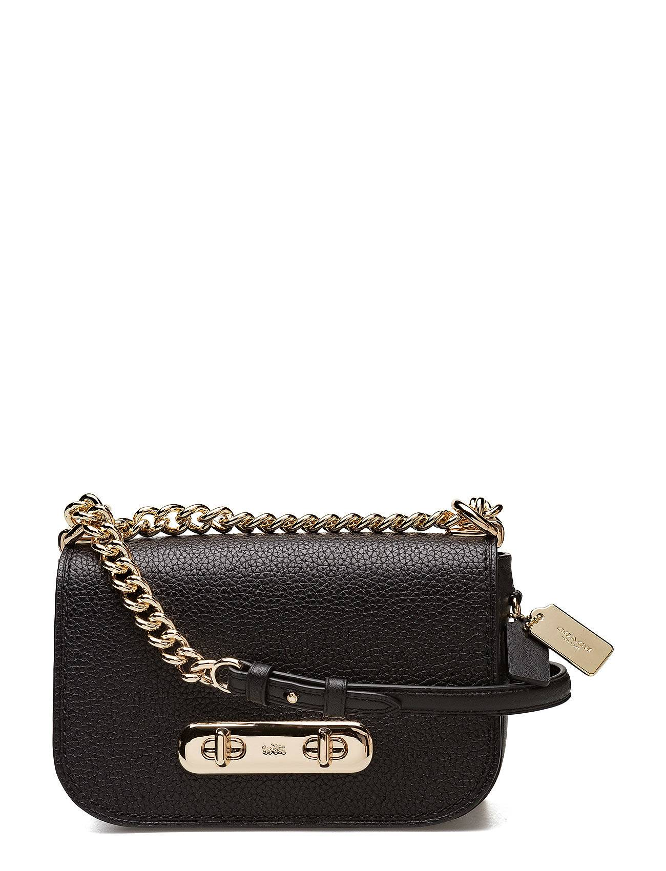 Coach Pebbled Leather Refresh Coach Swagger 20 Shoulder Bag