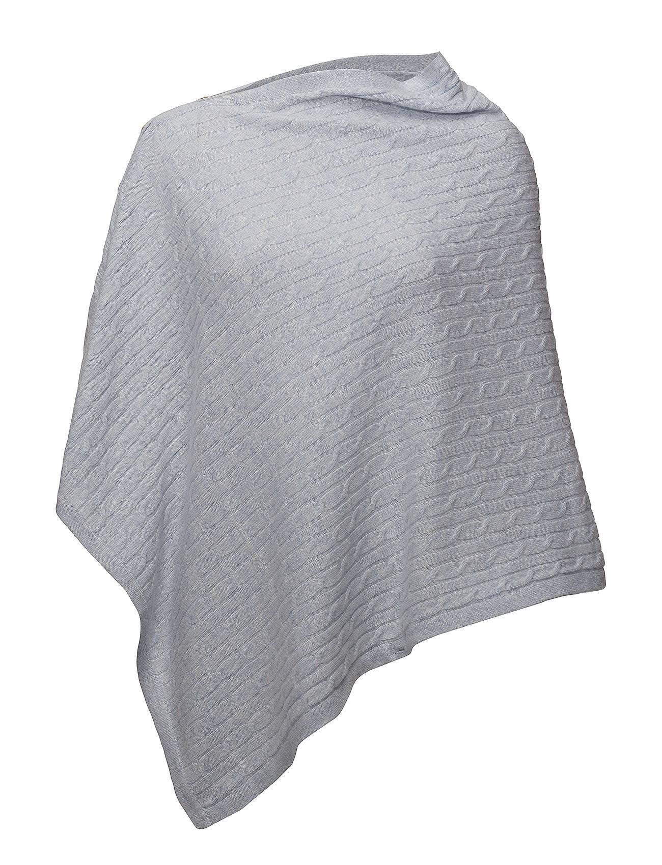 Davida Cashmere Poncho Cable With Buttons