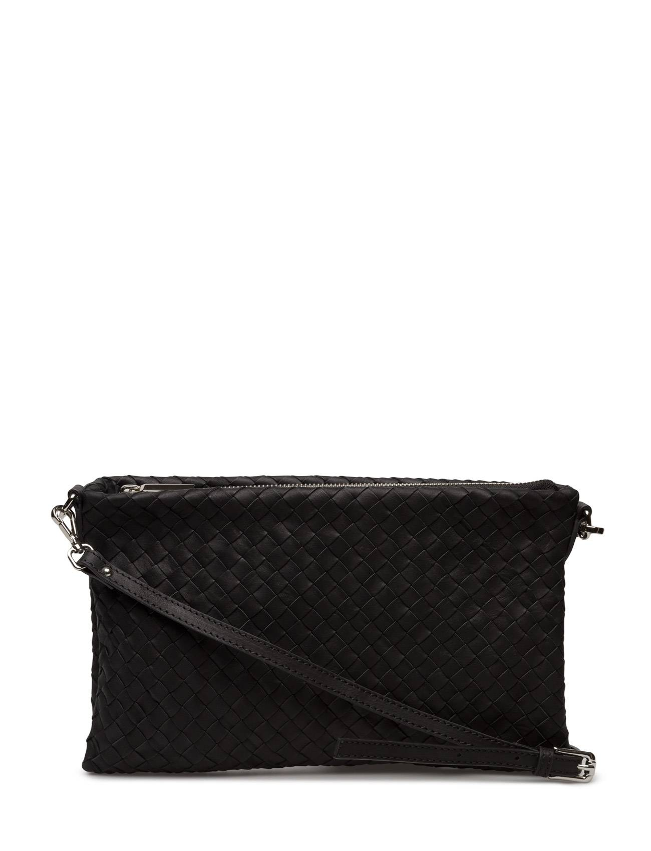 Decadent Woven Small Flat Cross Body