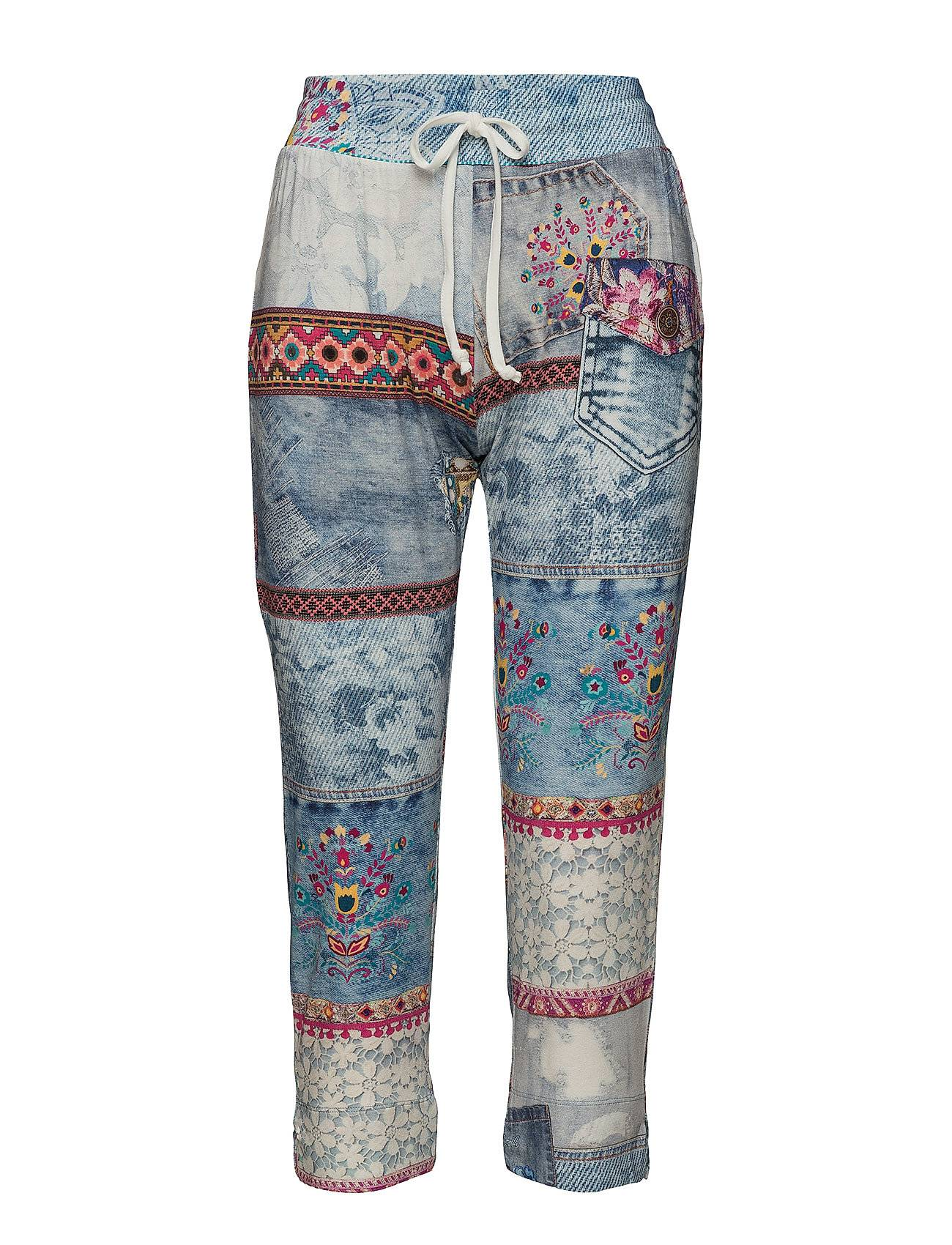 Desigual Trousers Exotic Summer