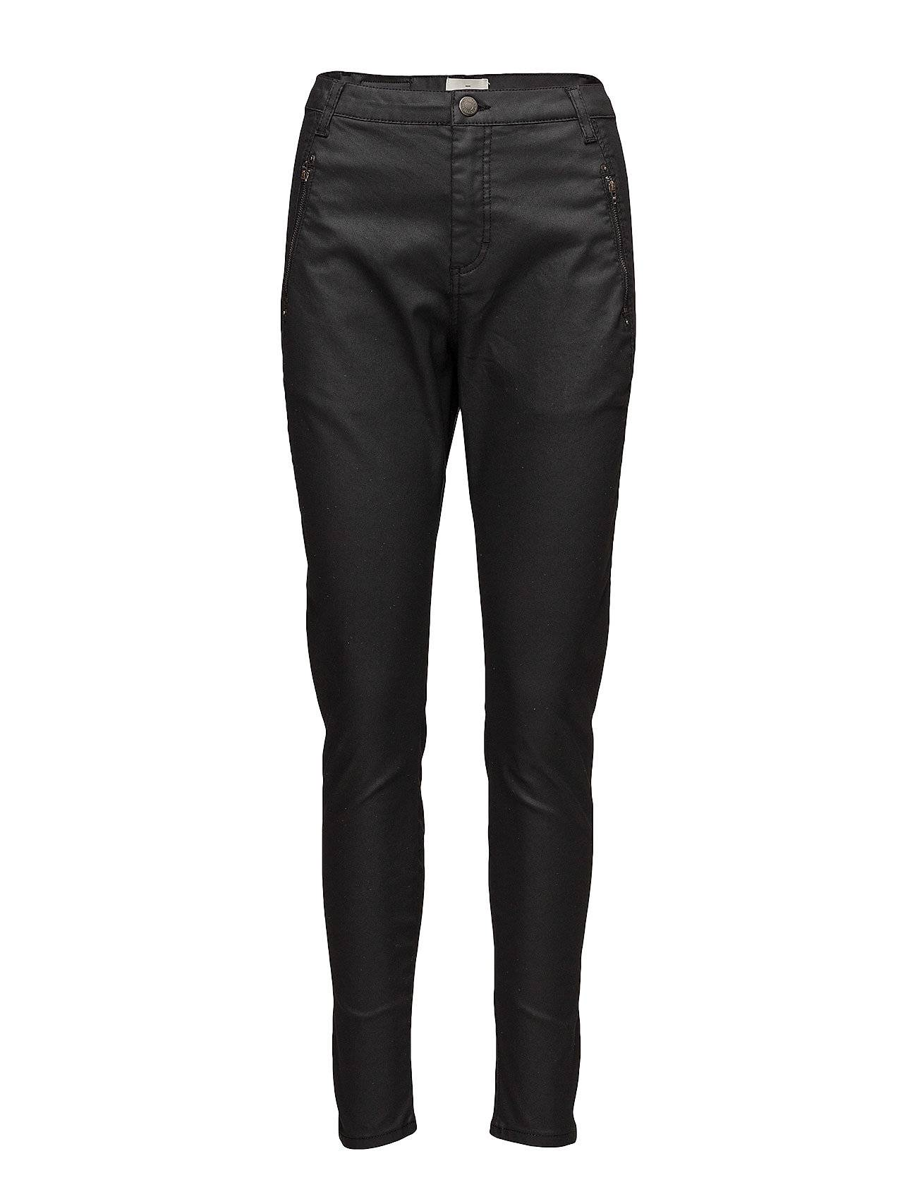 FIVEUNITS Jolie 374 Drifter, Black Coated, Pants