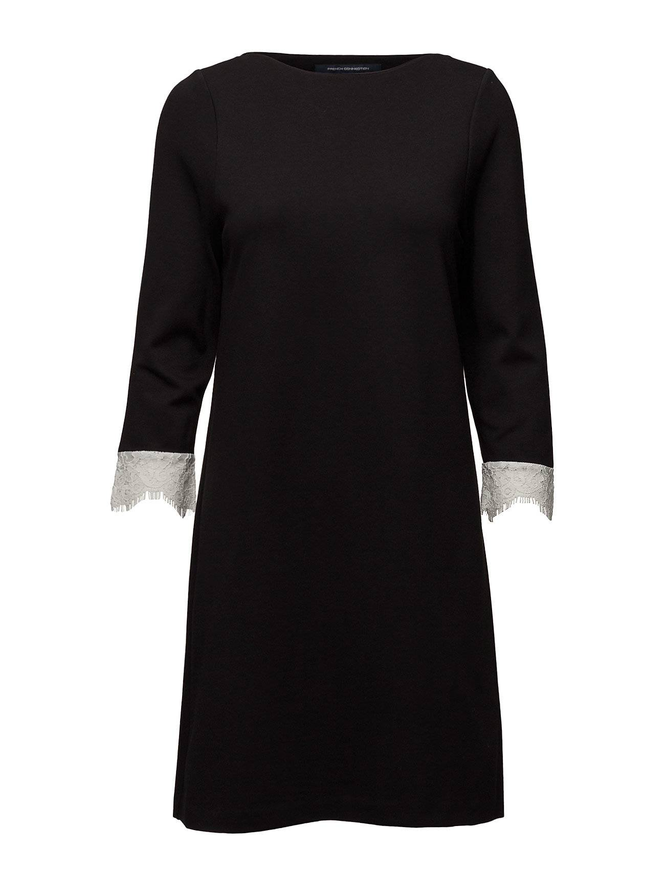 French Connection Lula Stretch L/S Slsh Nk Tunic