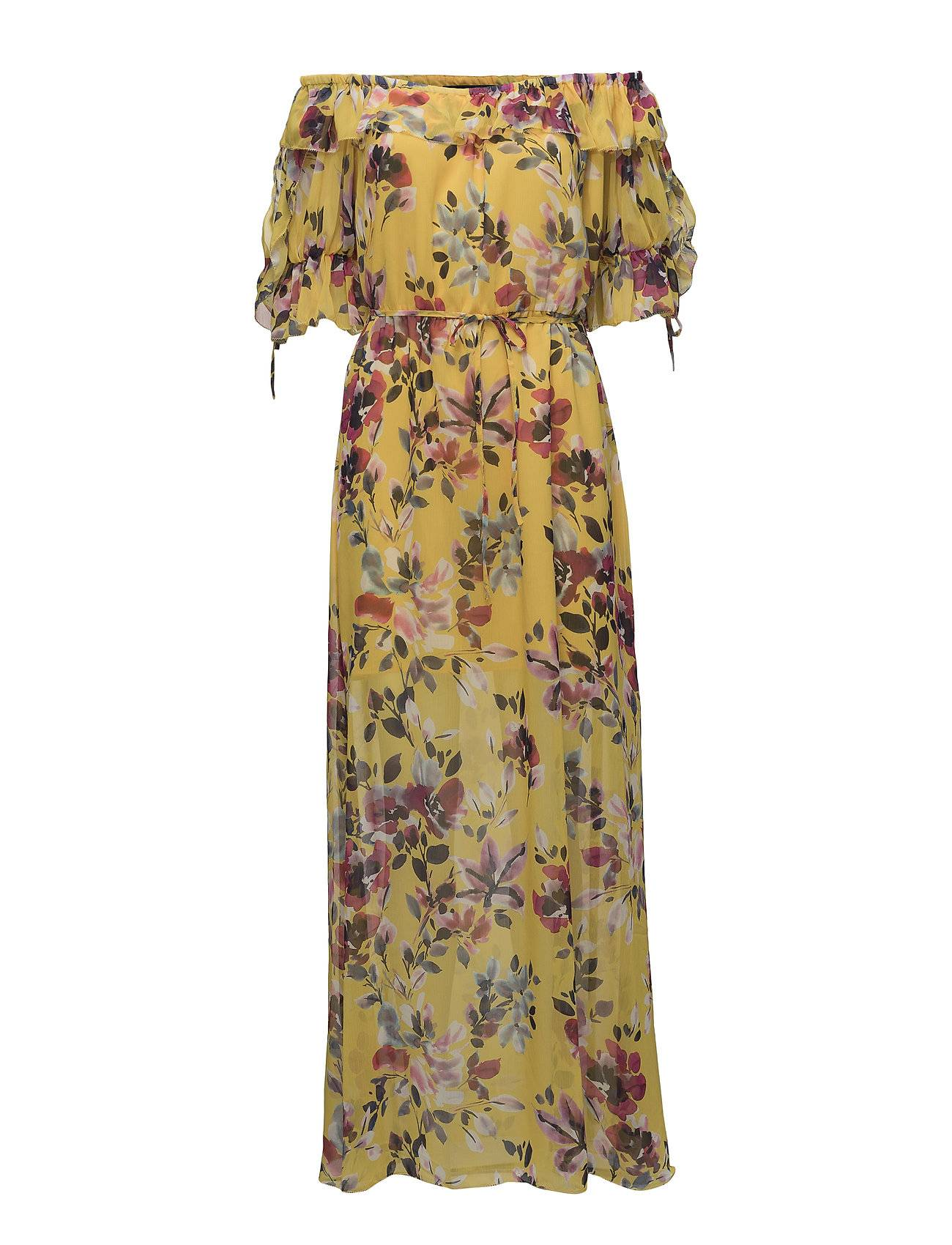 French Connection Linosa Off Shoulder Maxi Dress