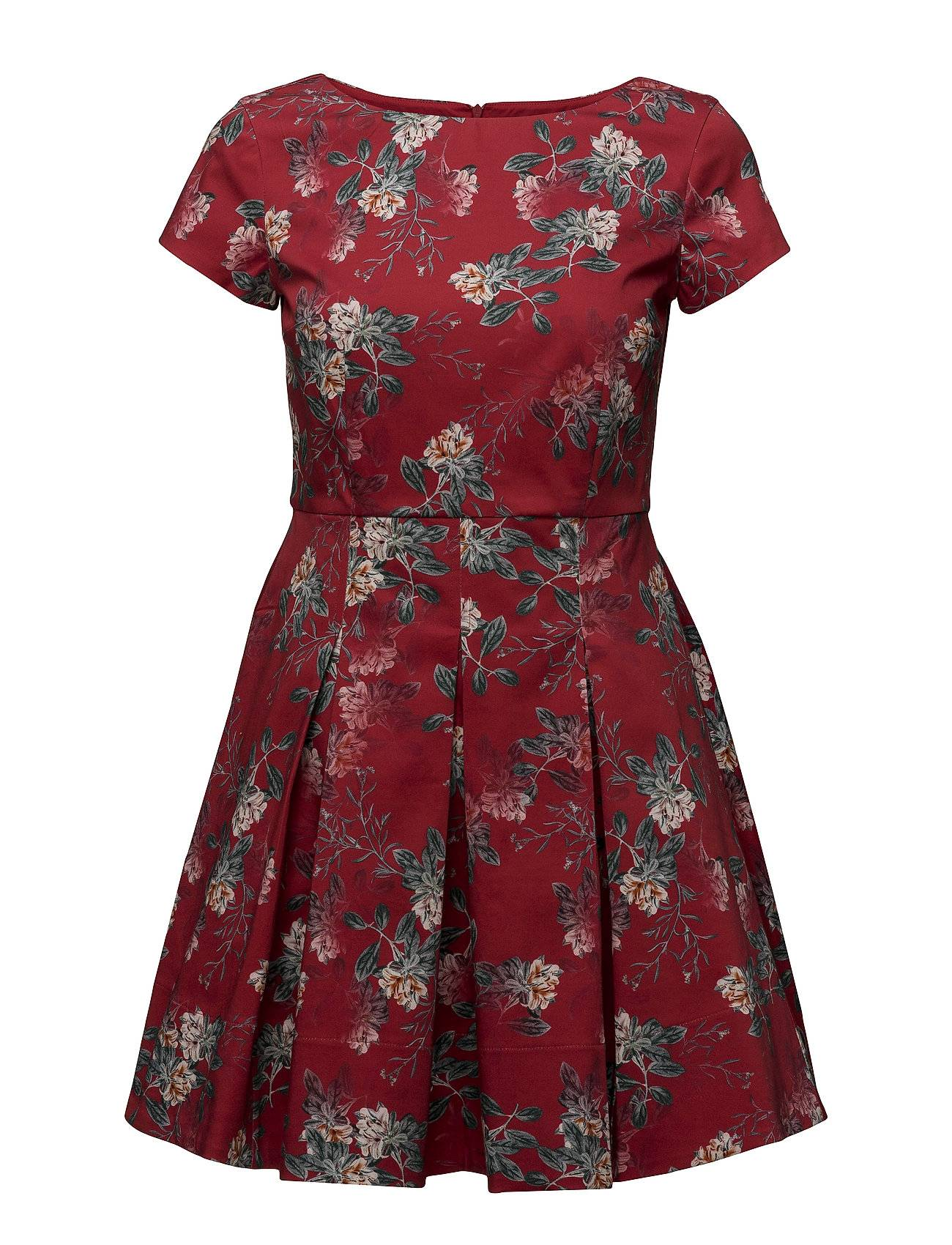 French Connection Kioa Cotton Capped Sleeve Flared Dress