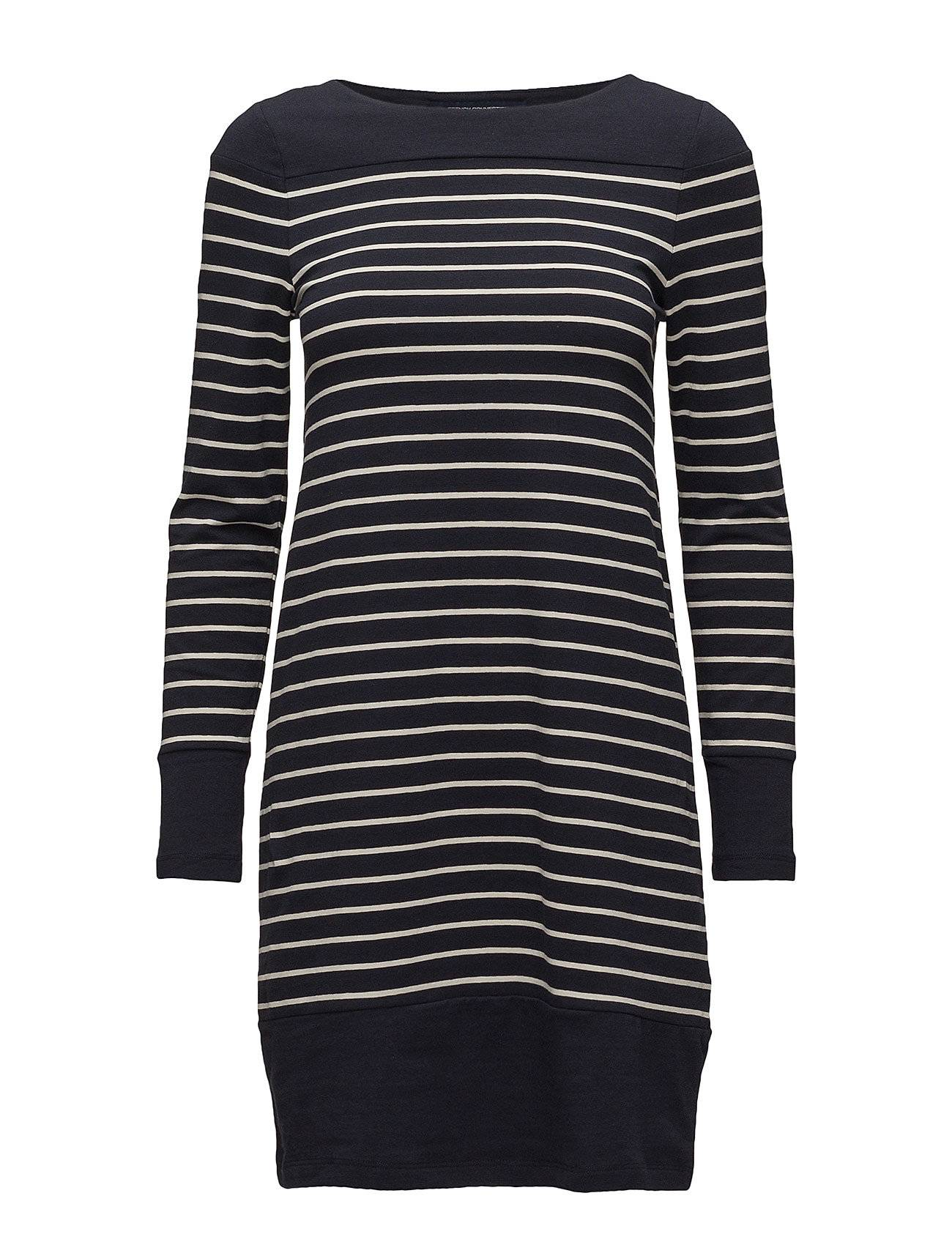 French Connection Tim Tim Long Sleeve Round Neck Tunic Dress