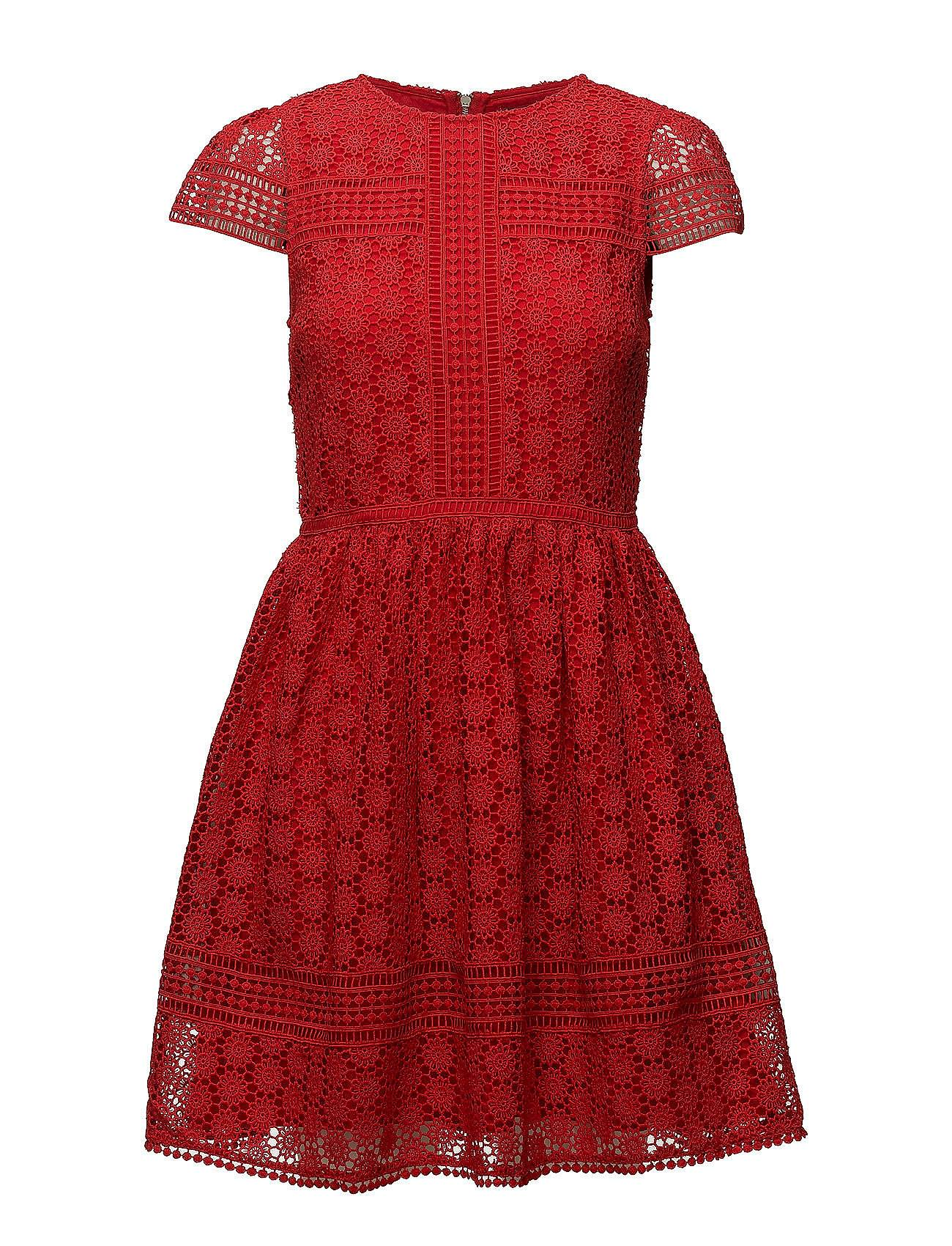 French Connection Parker Lace Fit And Flare Dress
