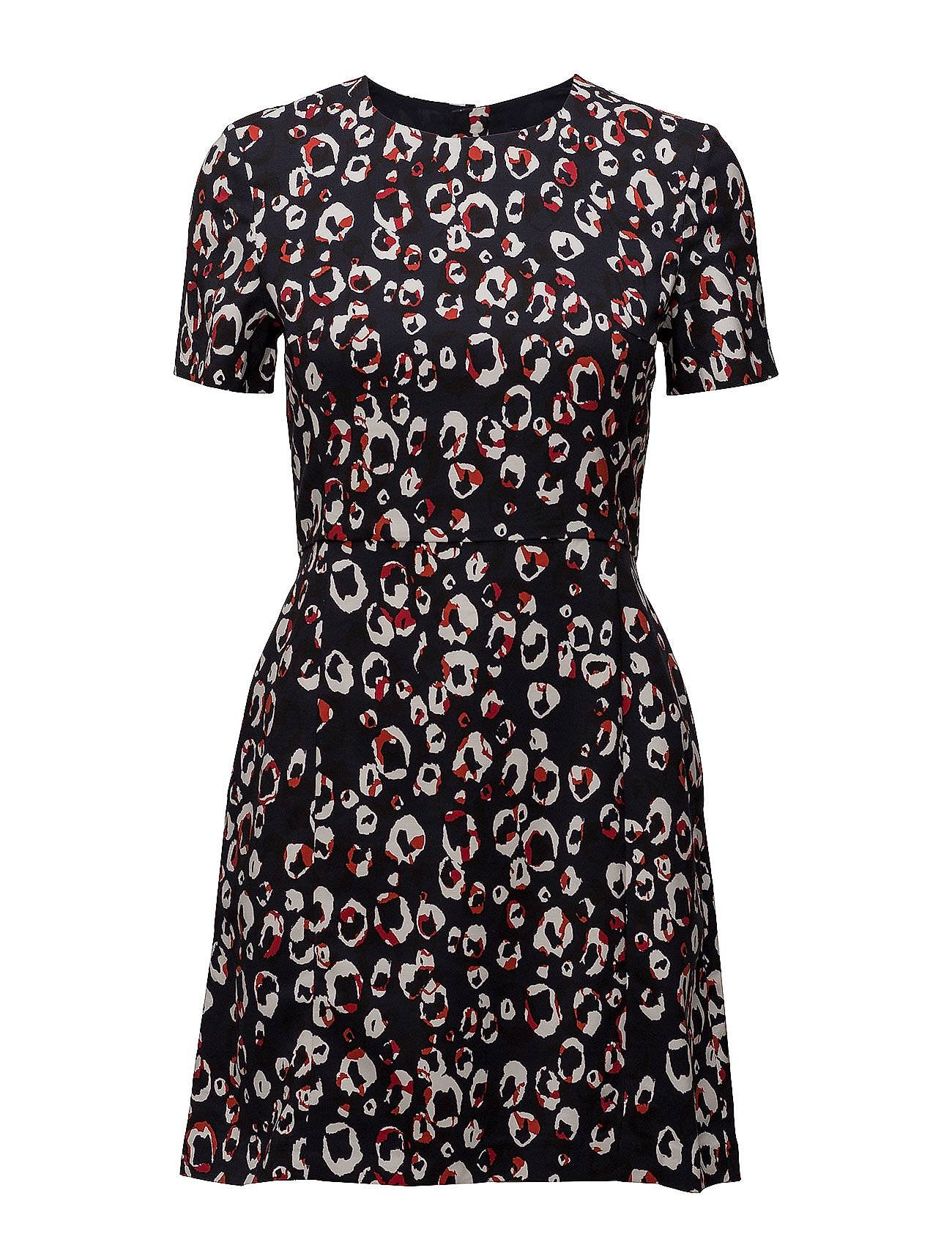French Connection Chira Stretch Short Sleeve Dress