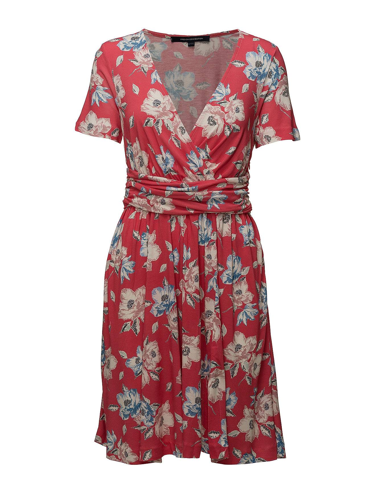 French Connection Cari Meadow Jrsy Wrap Dress
