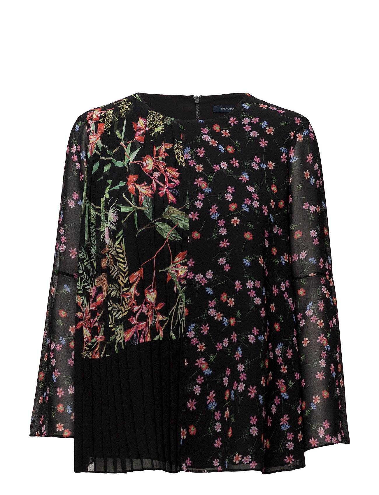 French Connection Bluhm Botero Sheer Ls Flared