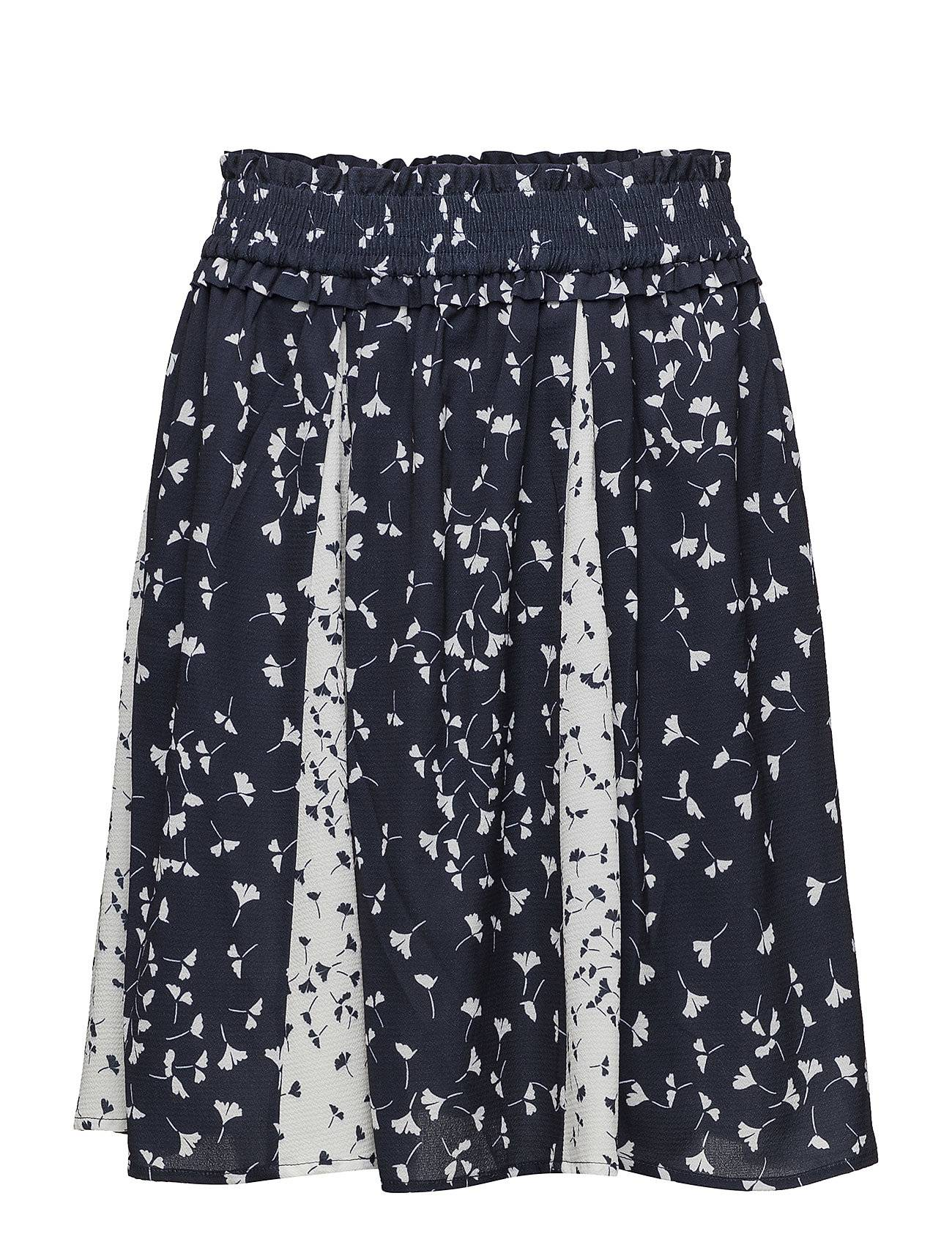 French Connection Komo Drape Mini Flared Skirt