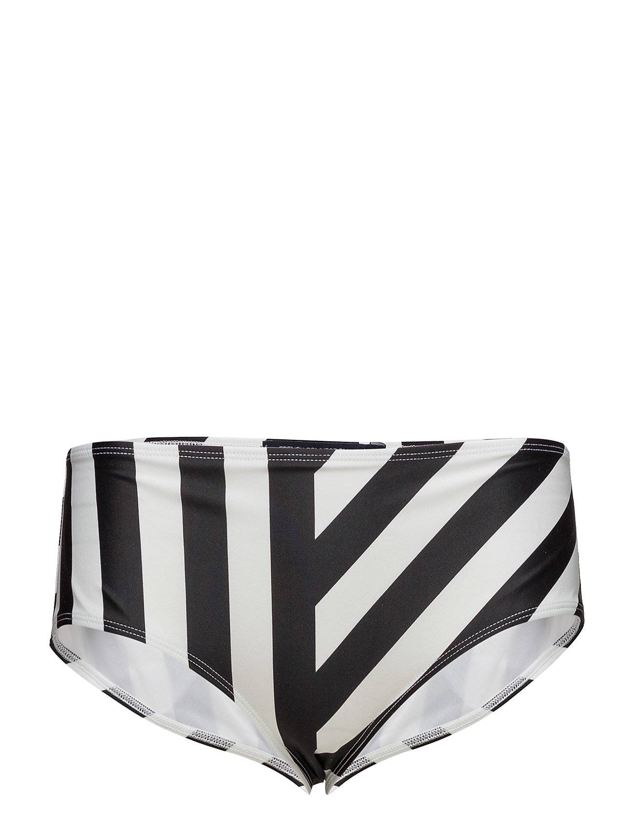 French Connection Block Stripe High Rise Briefs