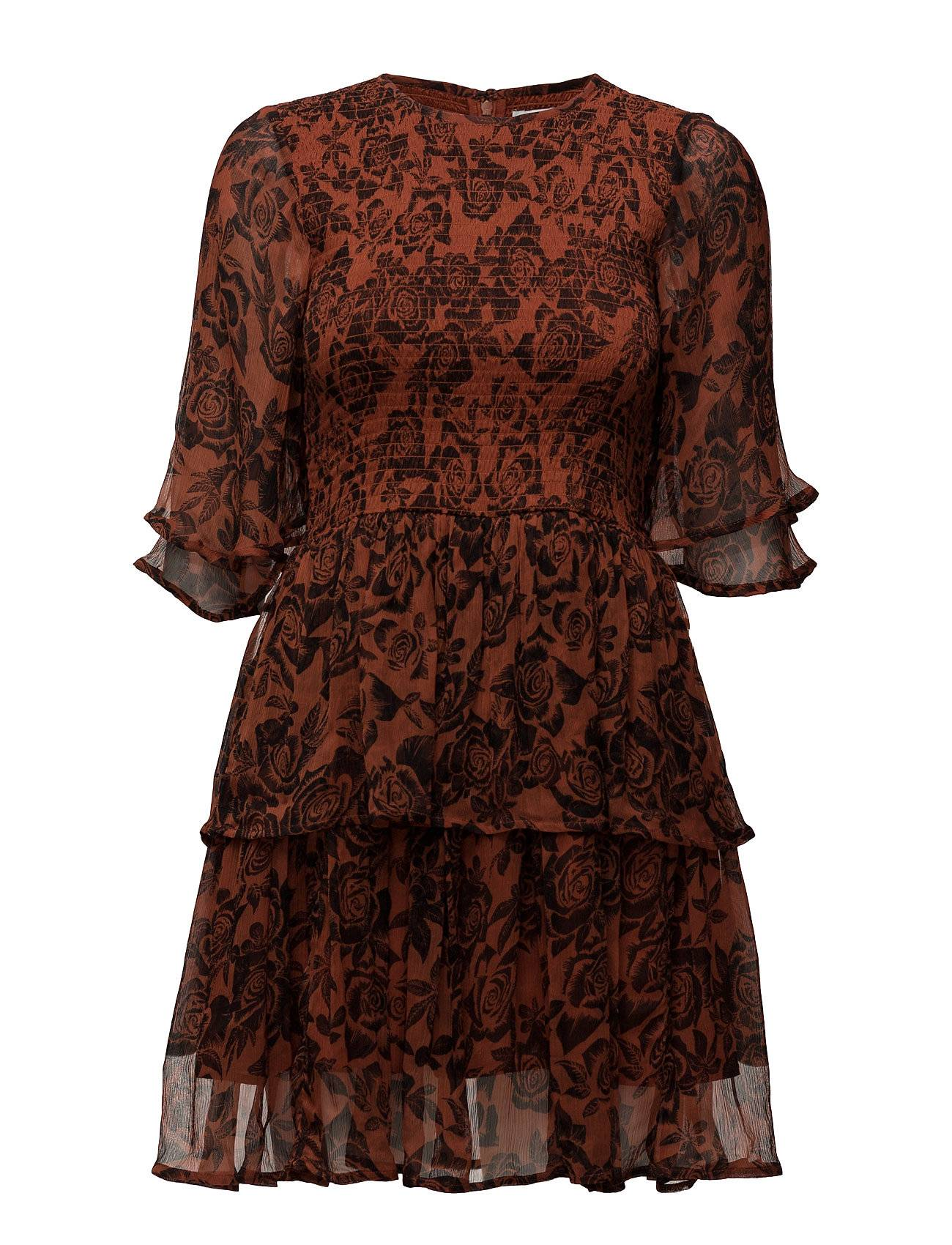 Ganni Beaumont Chiffon Dress