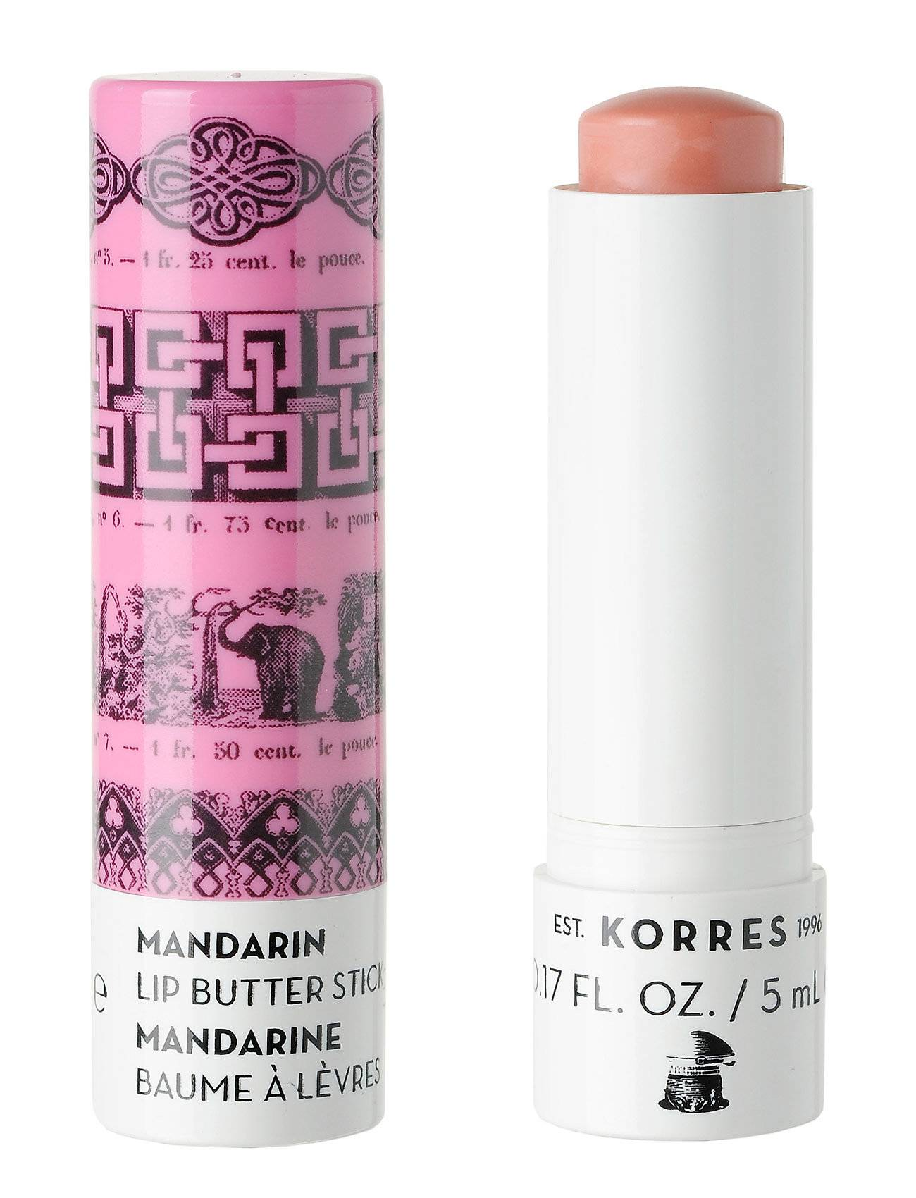 KORRES Pink Lip Butter Stick Spf15