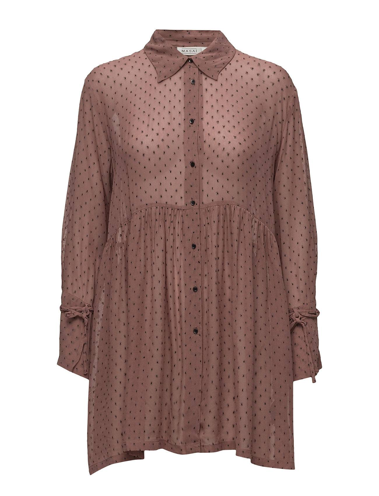 Masai Ingrid Blouse Fitted Long Slv