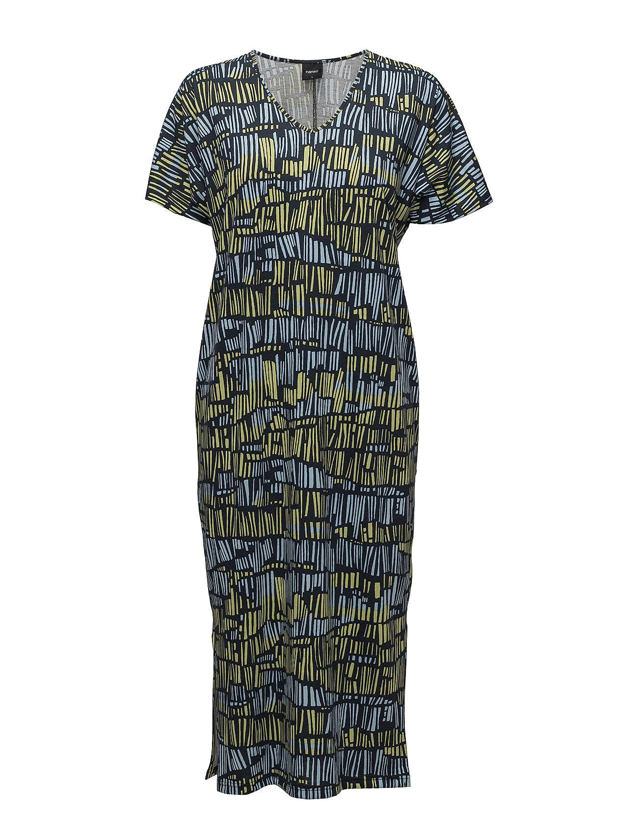 Nanso Ladies Long Nightgown, Domino