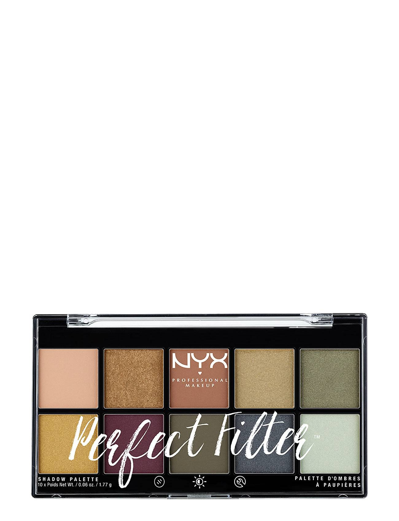 NYX PROFESSIONAL MAKEUP Perfect Filter Shadow Palette
