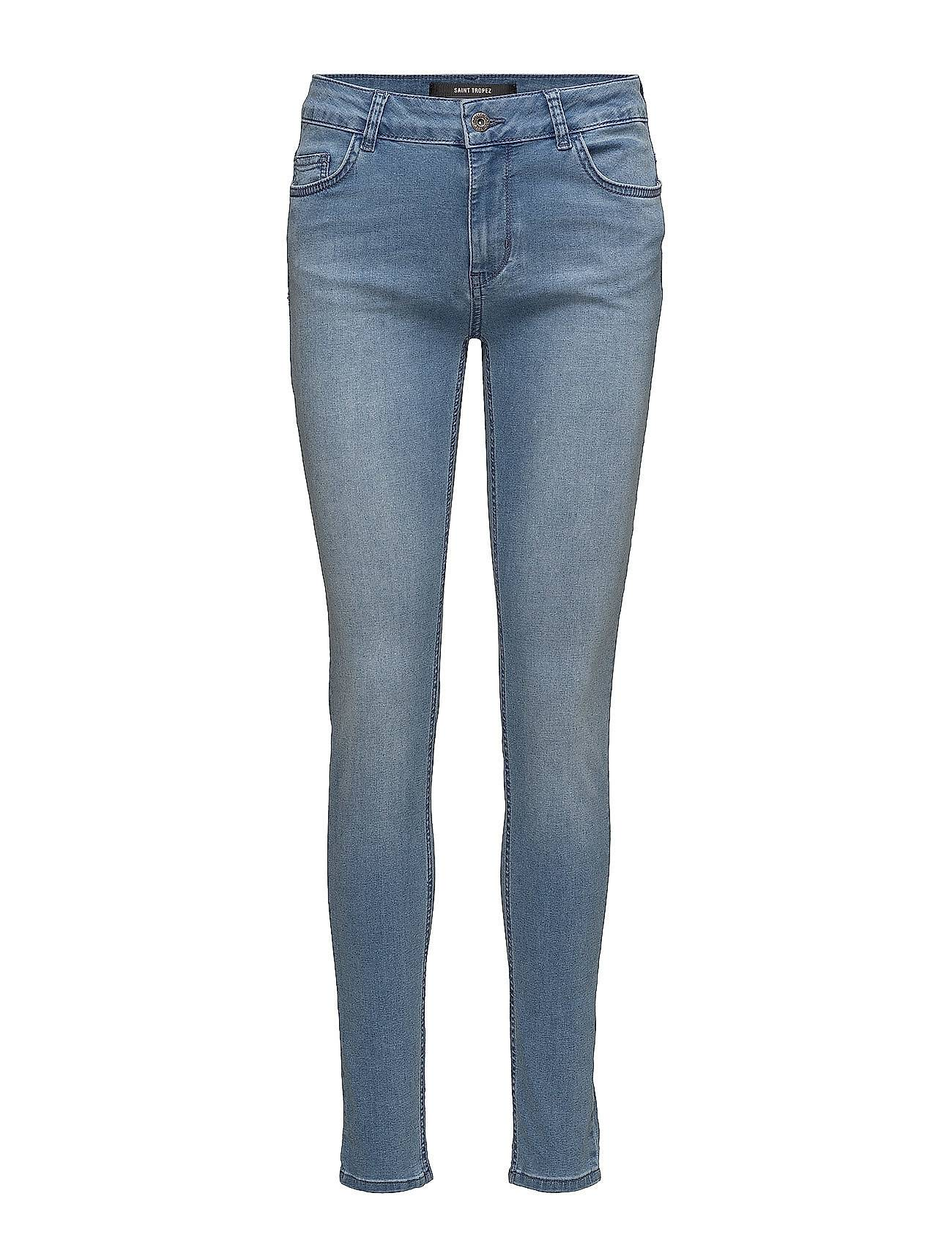 Saint Tropez Tight Fit Jeans With Pockets