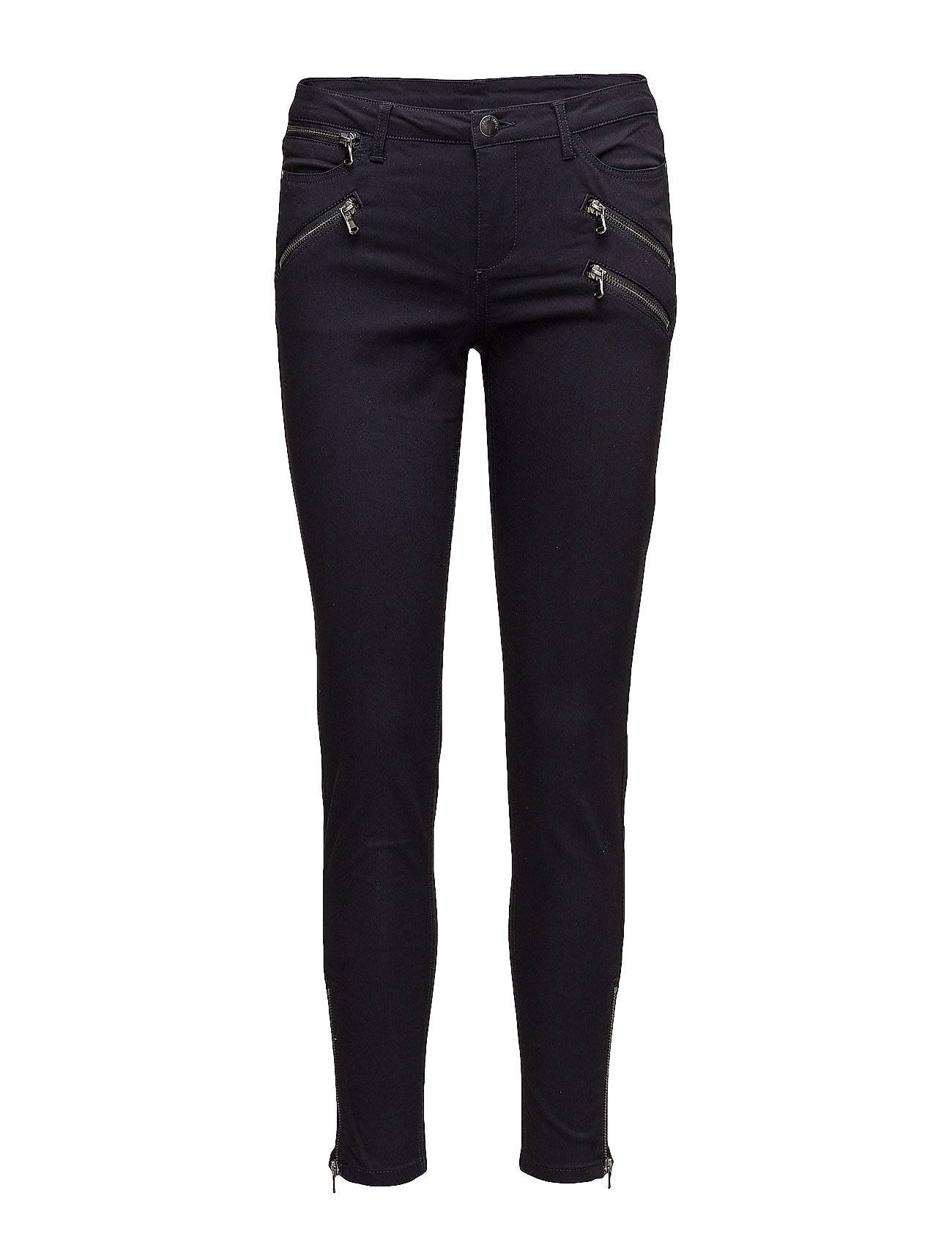 Saint Tropez Stretch Pants With Zippers
