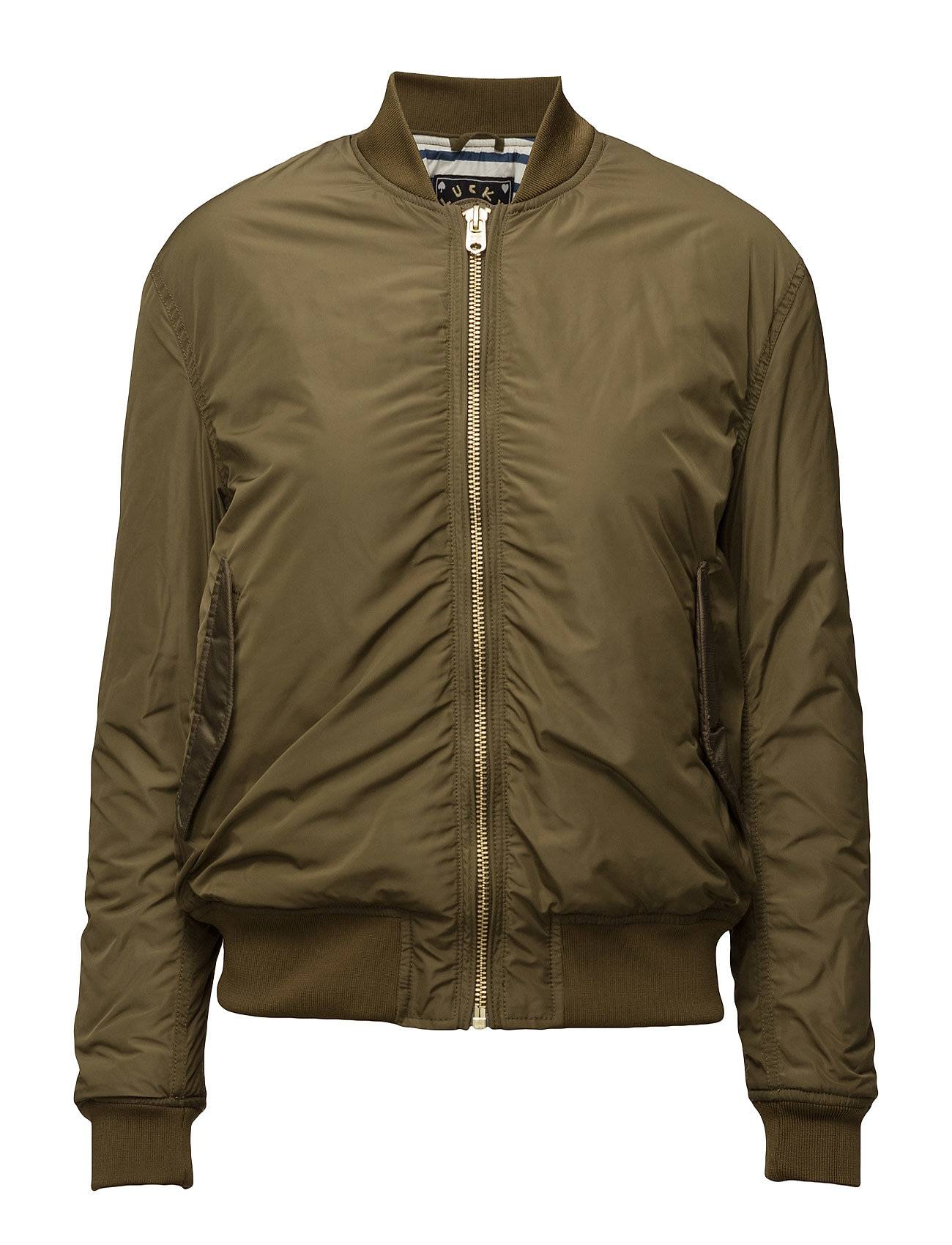 Scotch & Soda Bomber With Special Rib On Sleeves