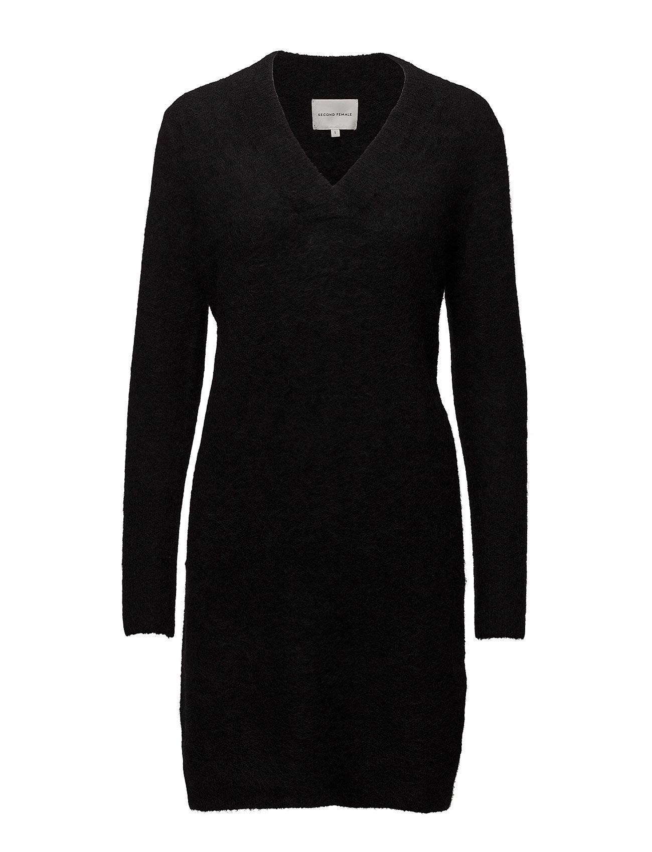 Second Female Brook Knit V-Neck Dress