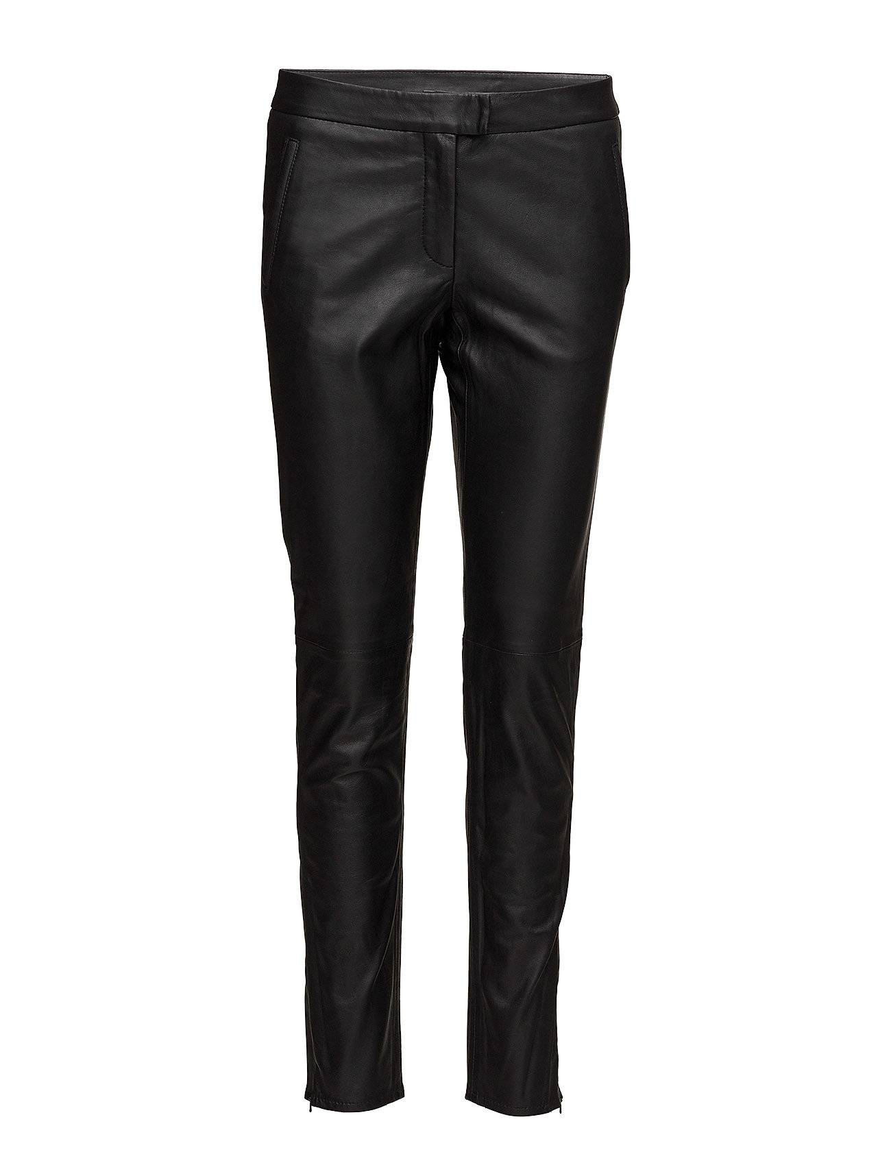 Second Female Robba Zip Leather Trousers