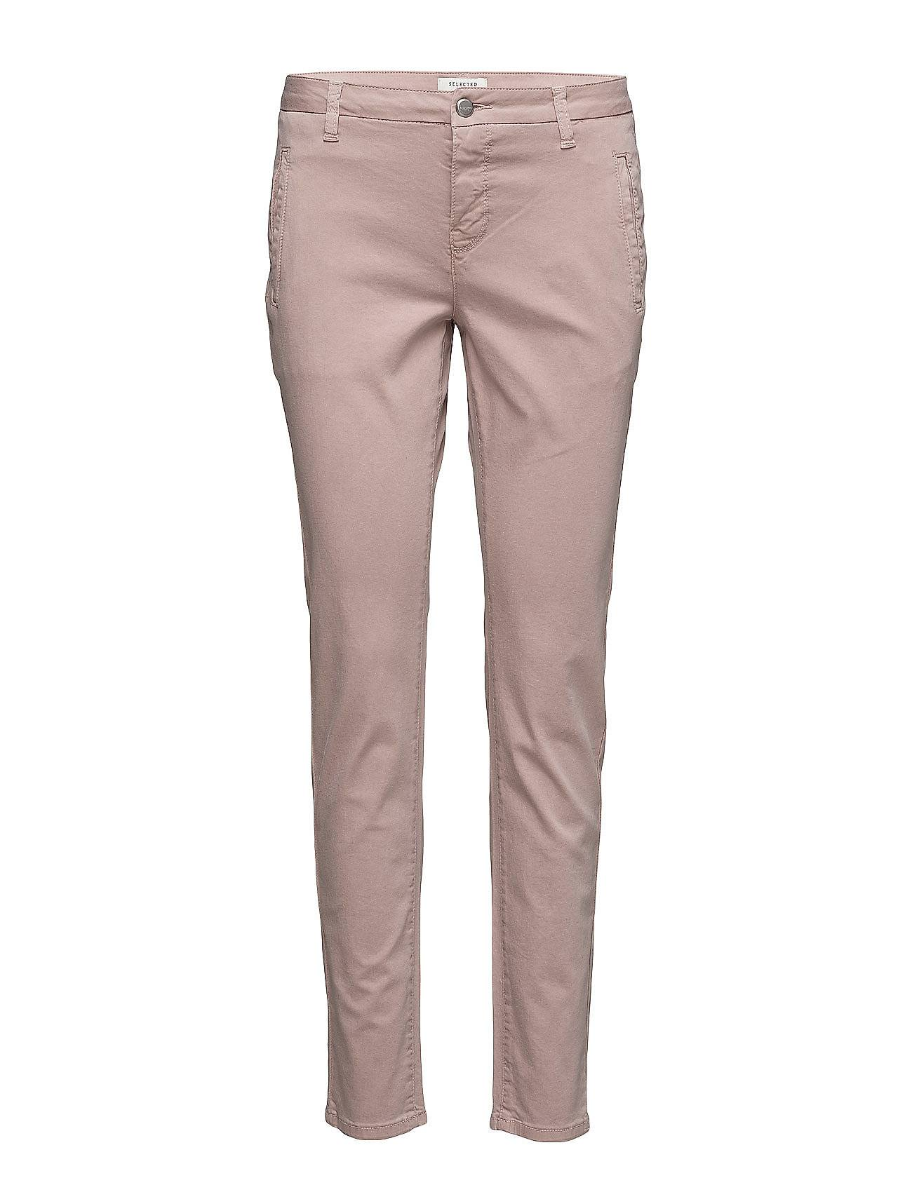 Selected Femme Sfingrid Mr 2 Tapered Chino Adobe Noos