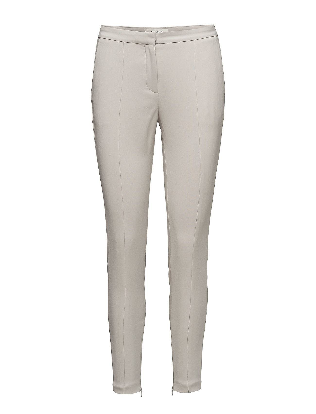 Selected Femme Sfmuse Cropped Mw Pant - Dove