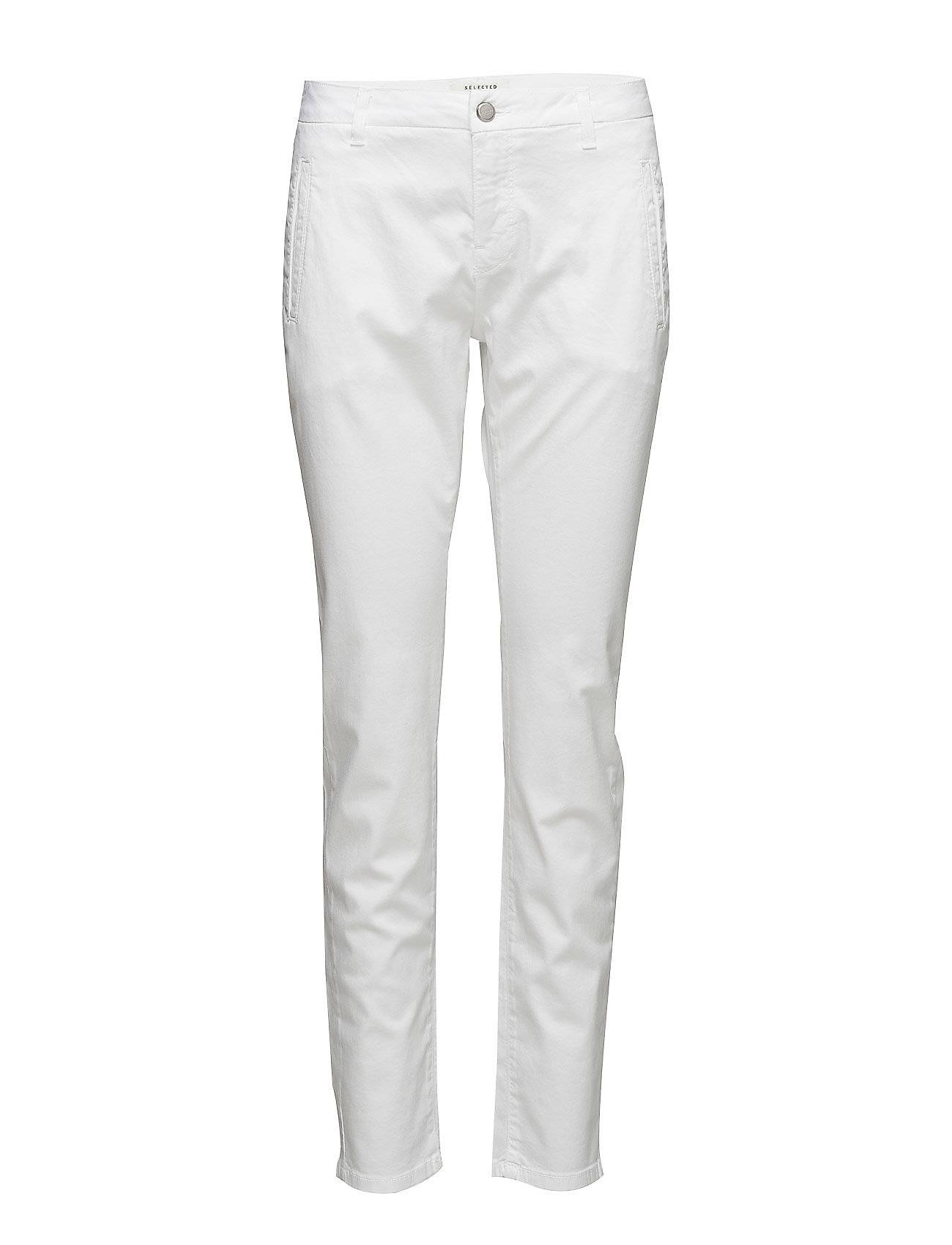 Selected Femme Sfingrid Mr 2 Chino Snow White
