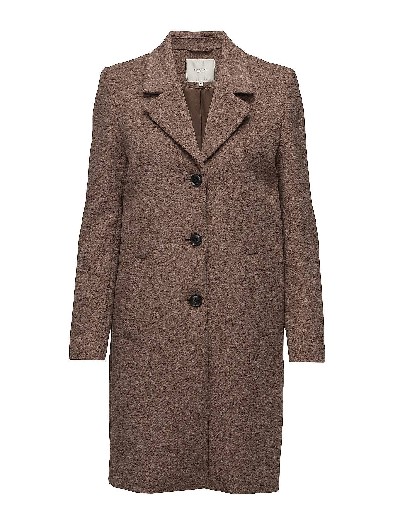 Selected Femme Sfsasja Wool Coat Camp H
