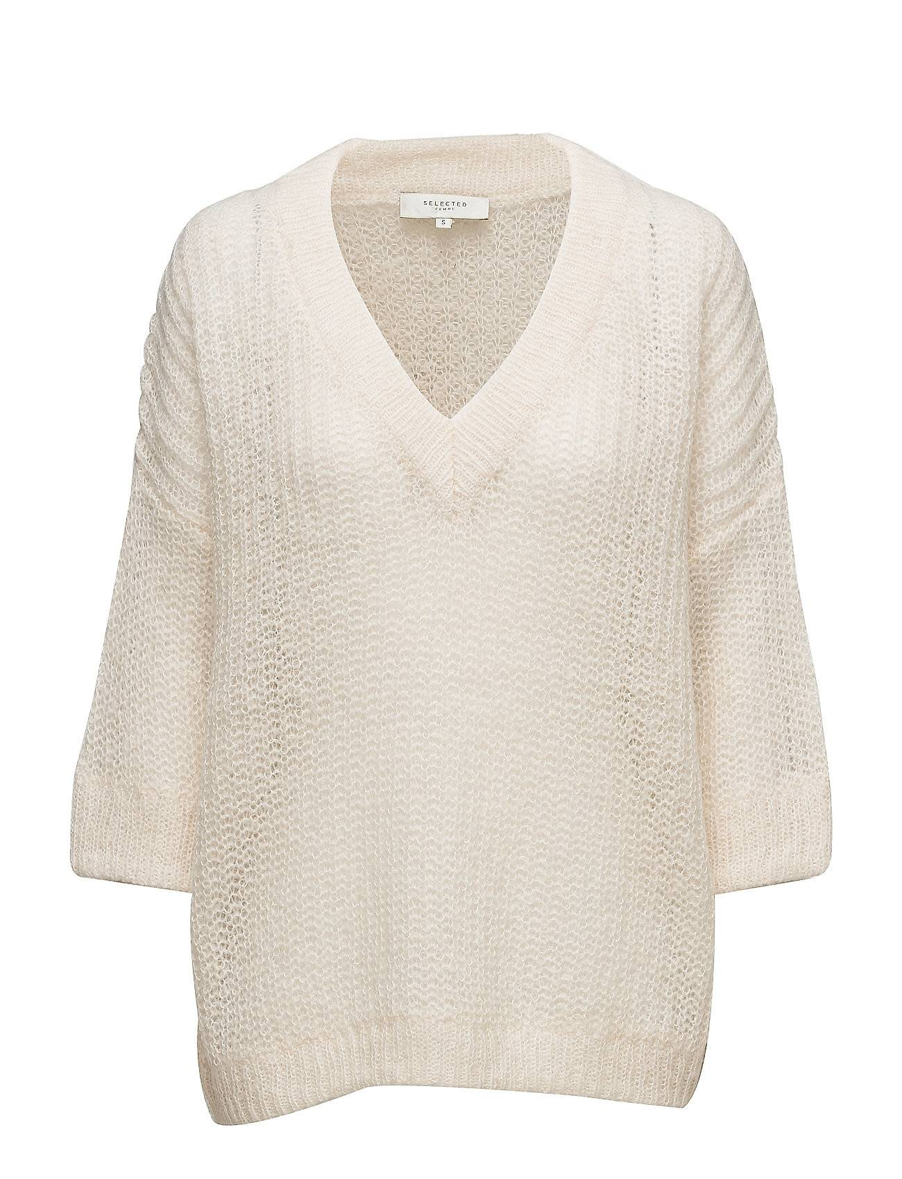 Selected Femme Sfjina 3/4 Knit V-Neck