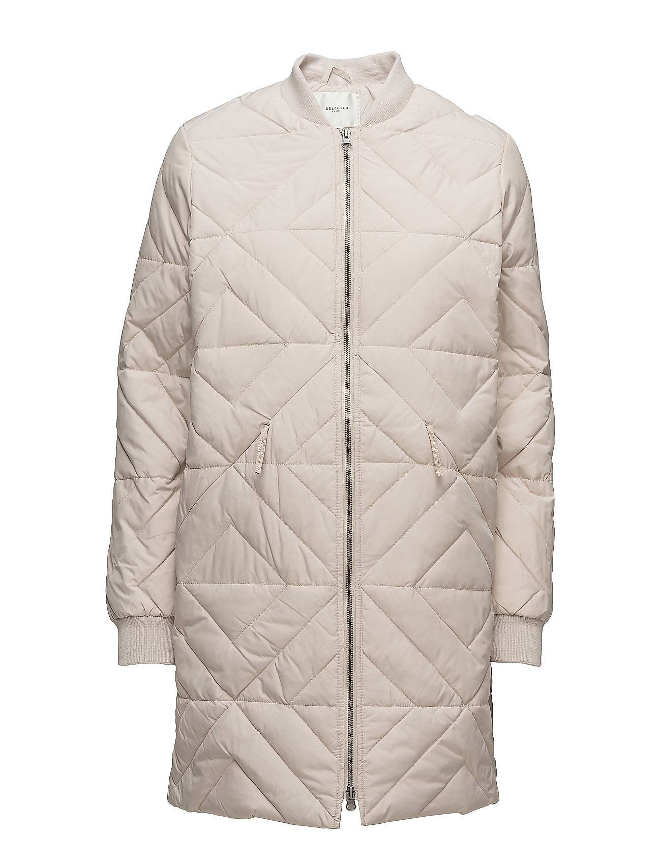 Selected Femme Sfolivia Long Down Jacket