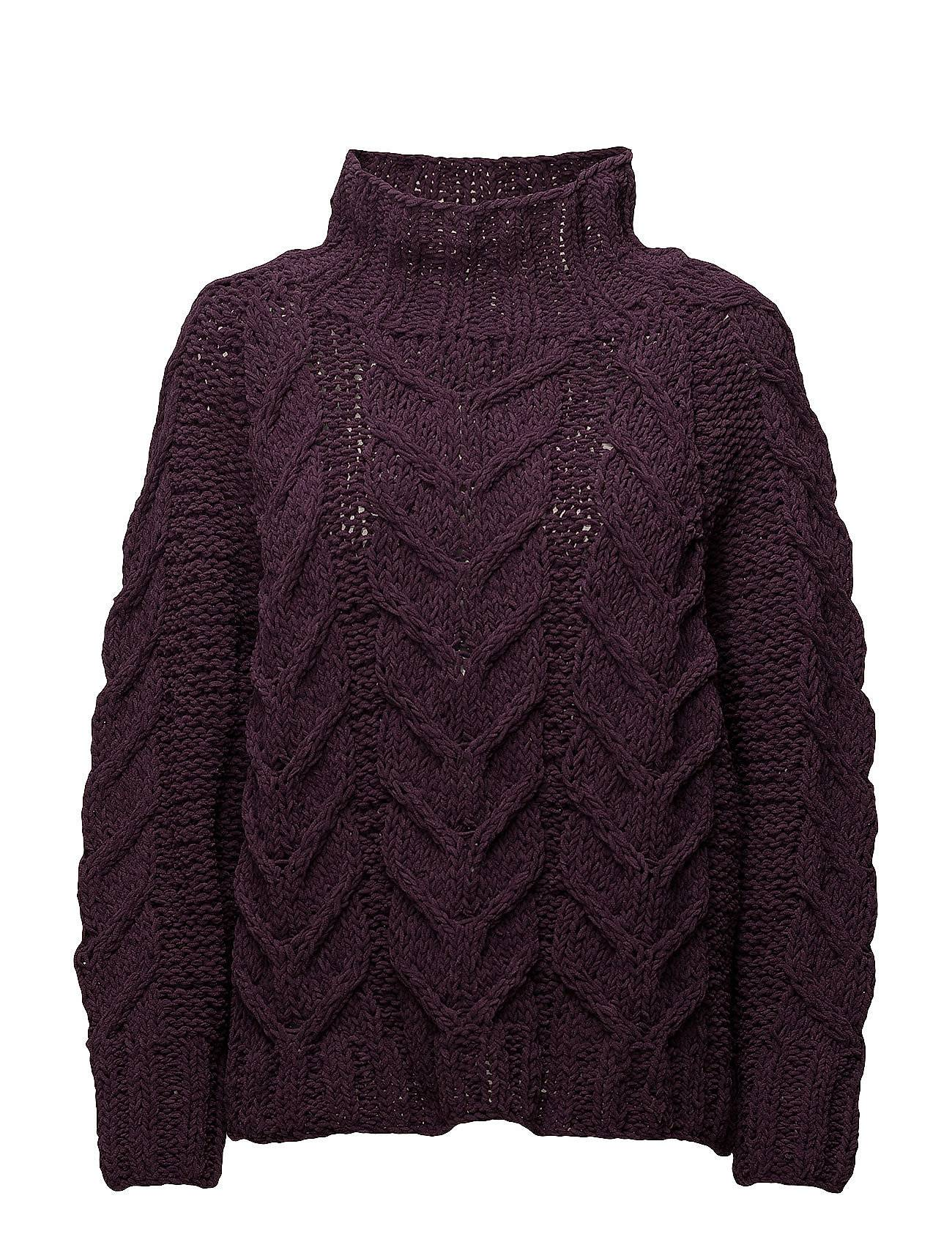 Selected Femme Sfblair Ls Highneck Knit